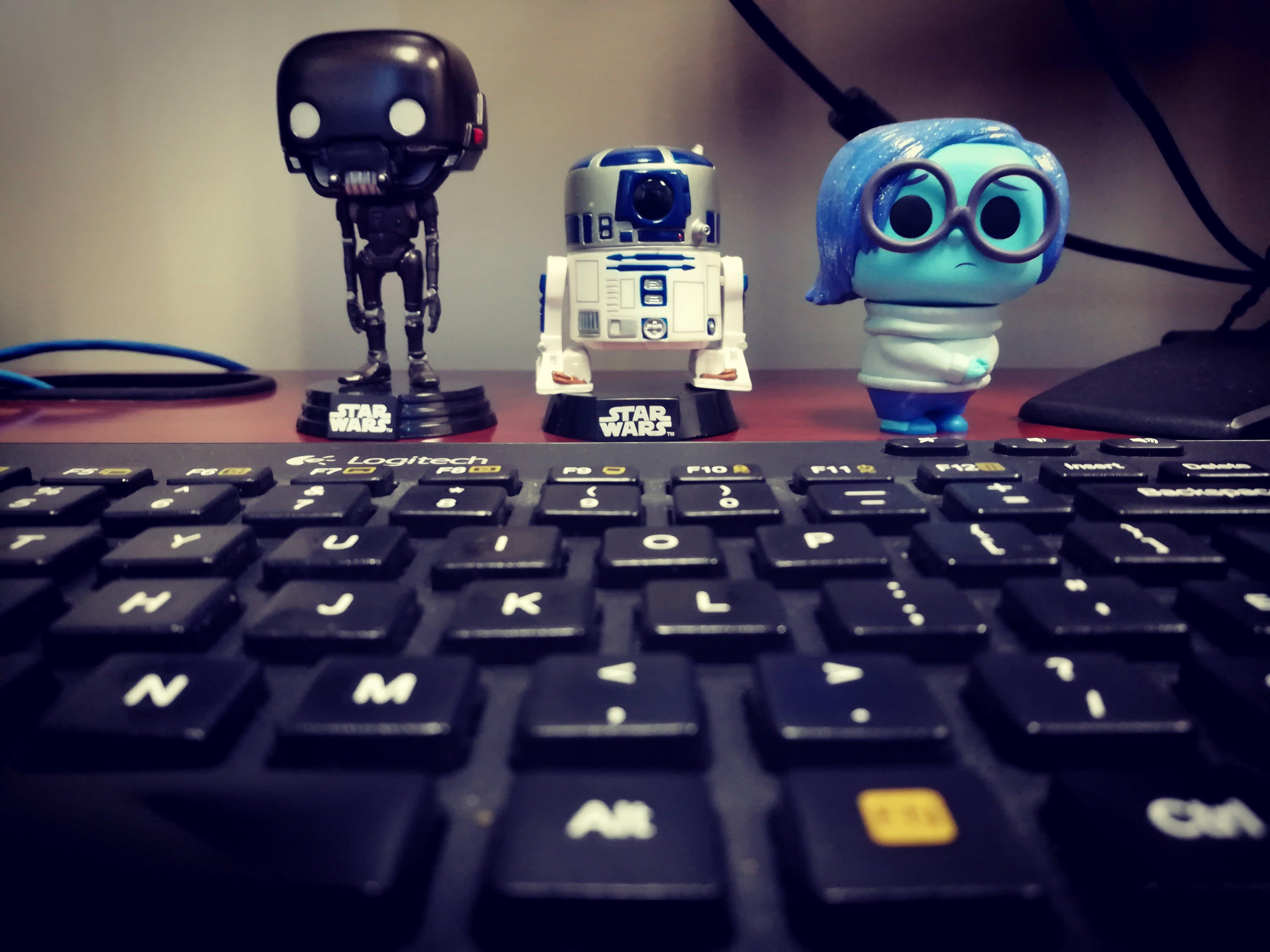 Figuren mit tastatur