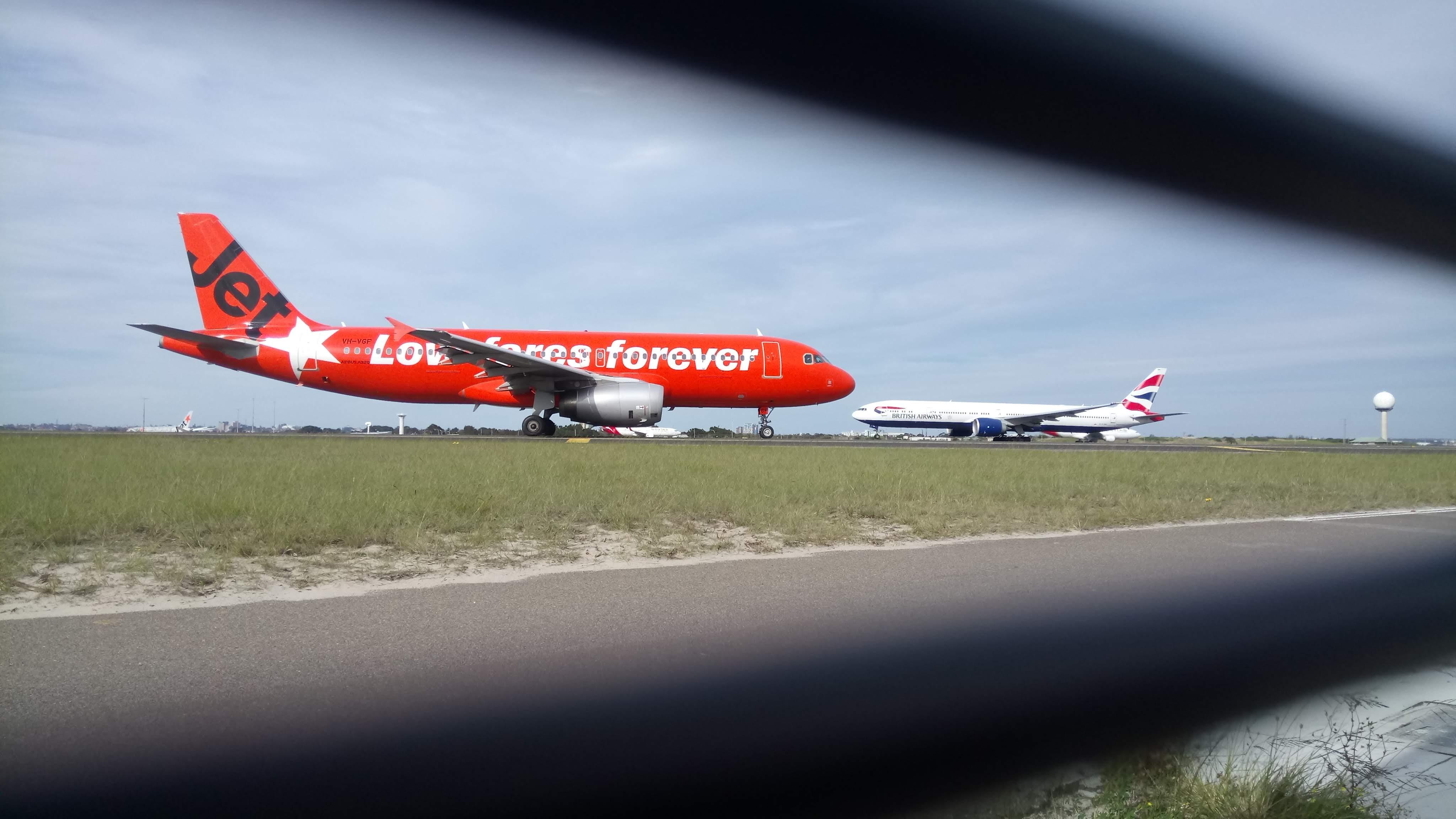 bildet sydney airport jetstar airways british airways