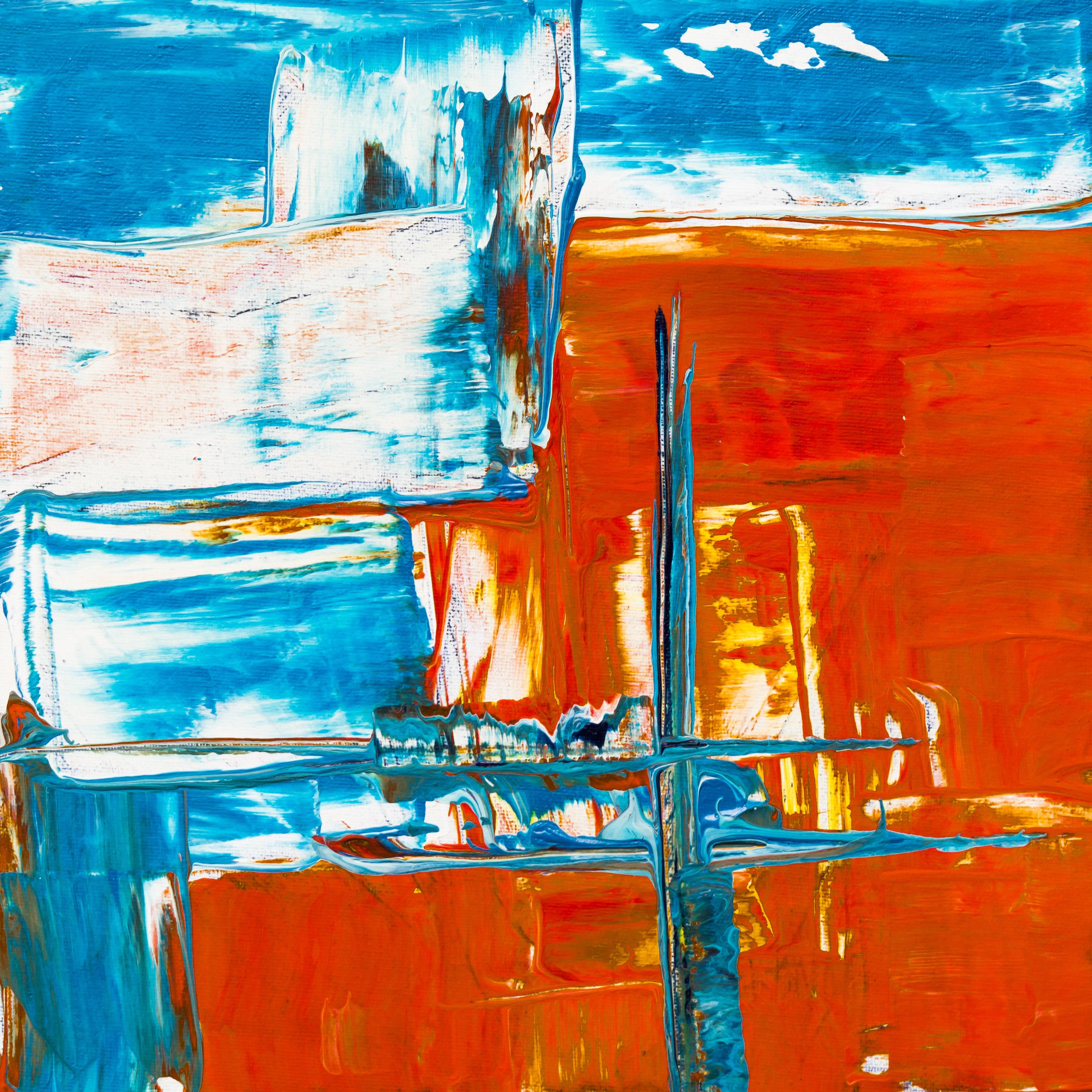 Ongebruikt Gratis Afbeeldingen : abstract expressionisme, abstract schilderij AI-82