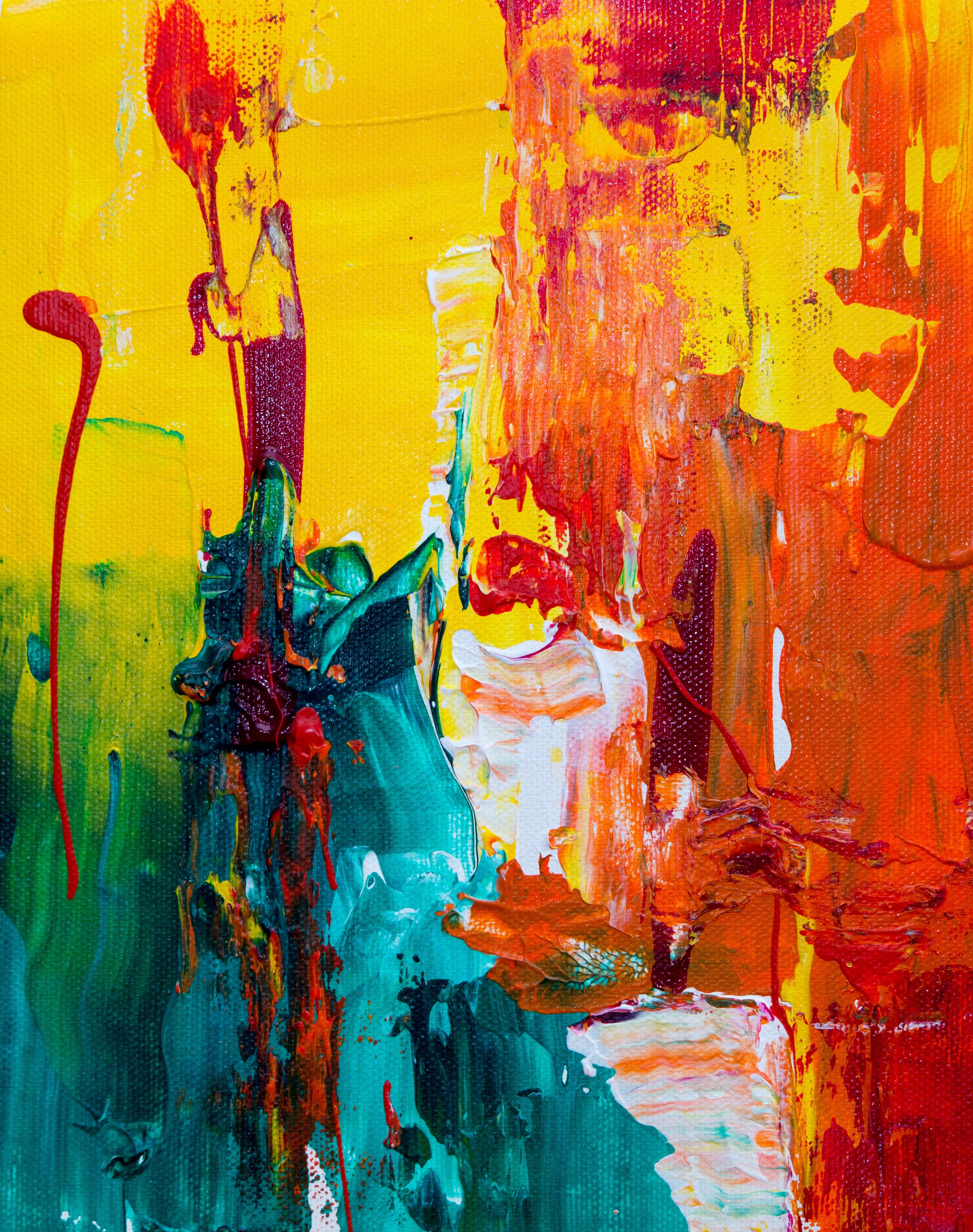 Abstract Modern Art Artistic Wallpaper
