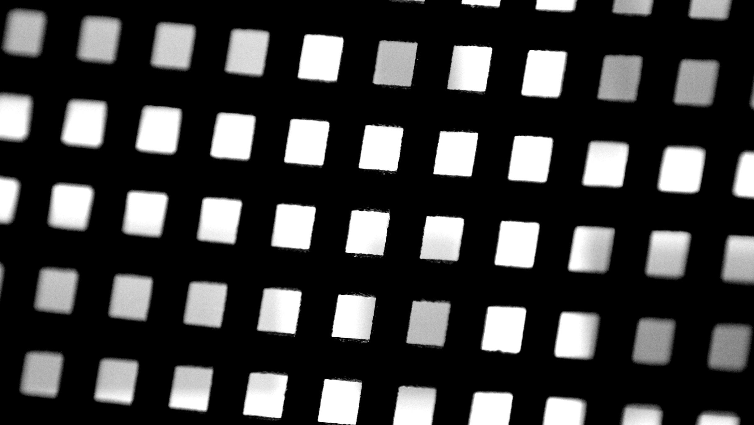 Gambar Abstrak Hitam Dan Putih Pola Garis Satu Warna