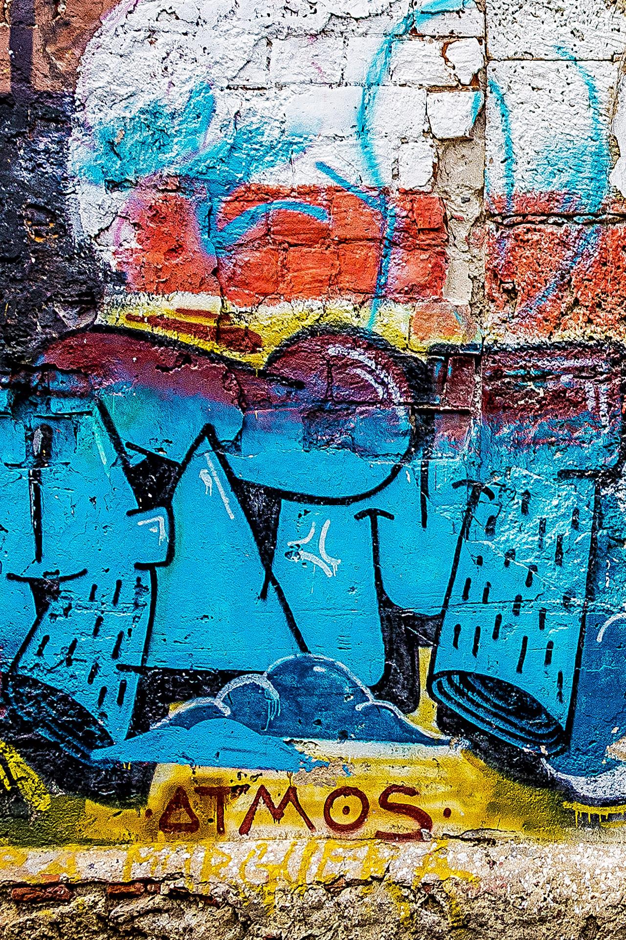 Abstract city urban artistic grunge colorful graffiti painting street art art background illustration mural spray paint