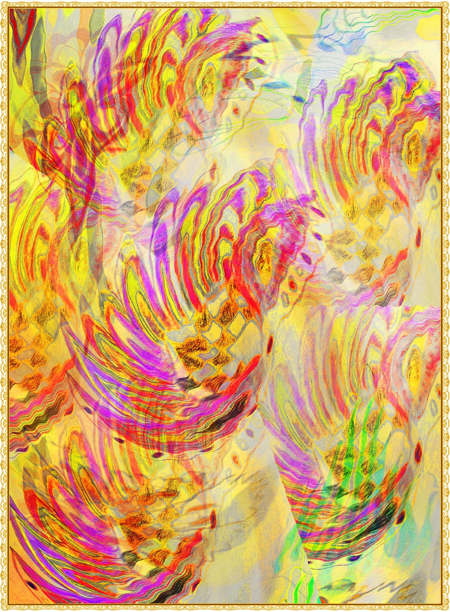93 Gambar Abstrak Warna Warni