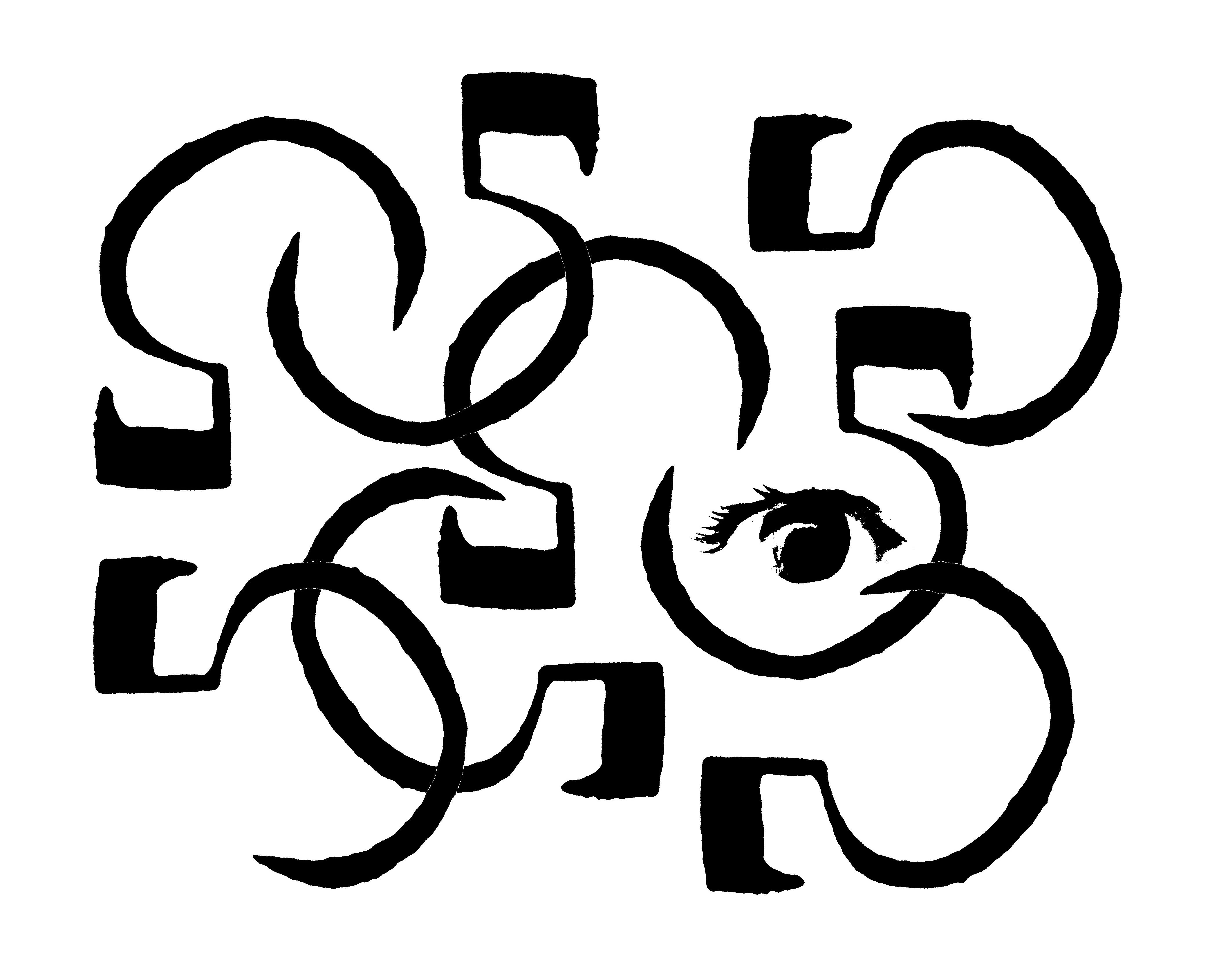 Gambar Abstrak Tekstur Pola Grayscale Satu Warna Fon Bw