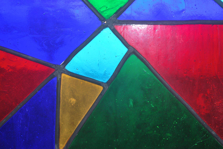 gambar : abstrak, jendela, dinding, garis, hijau, geometris