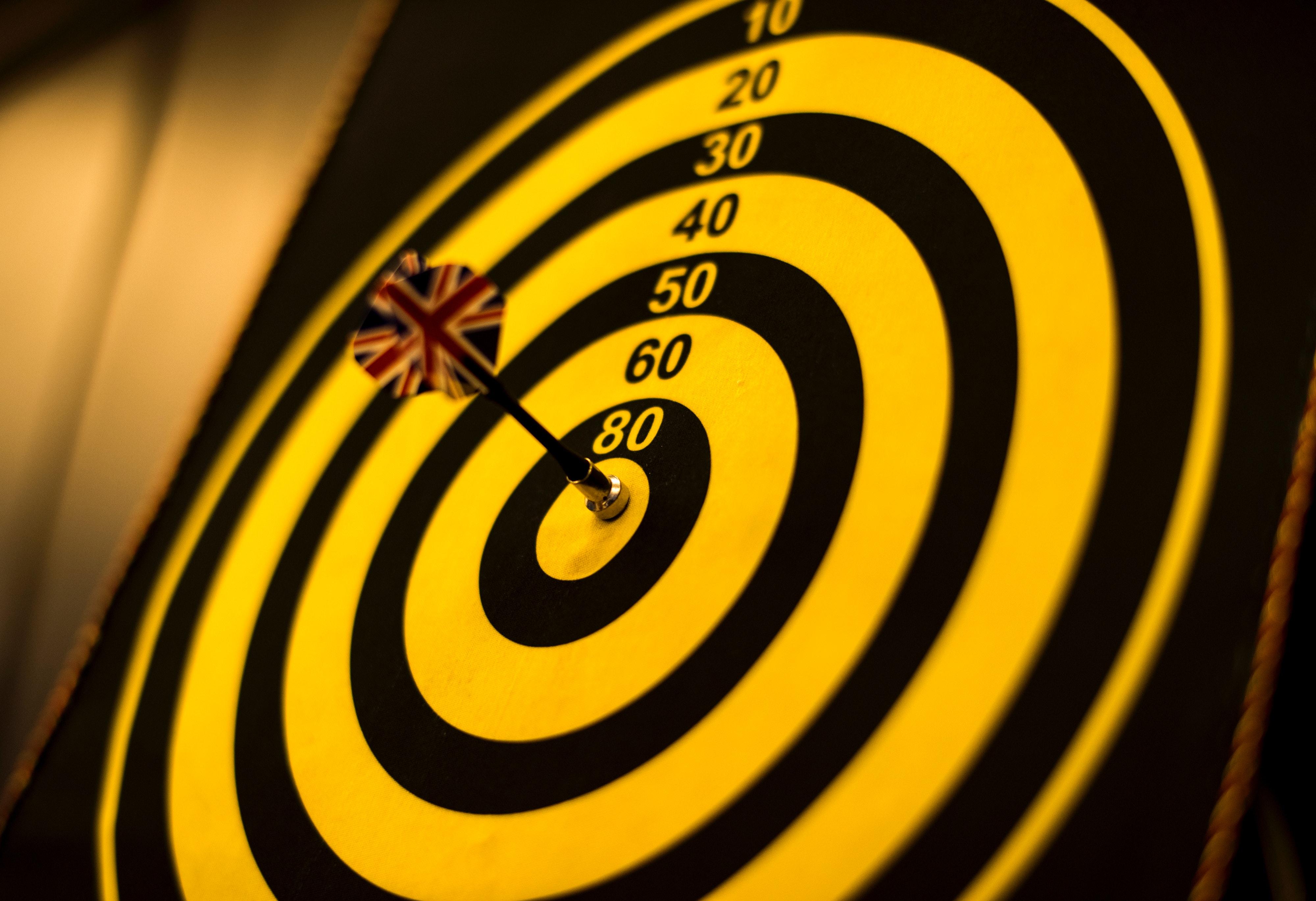 Tính Chính Xác Mục Đích Nhằm Bảng Bullseye Đóng Lên Đâm Dartboard Trò Chơi  Số Tròn