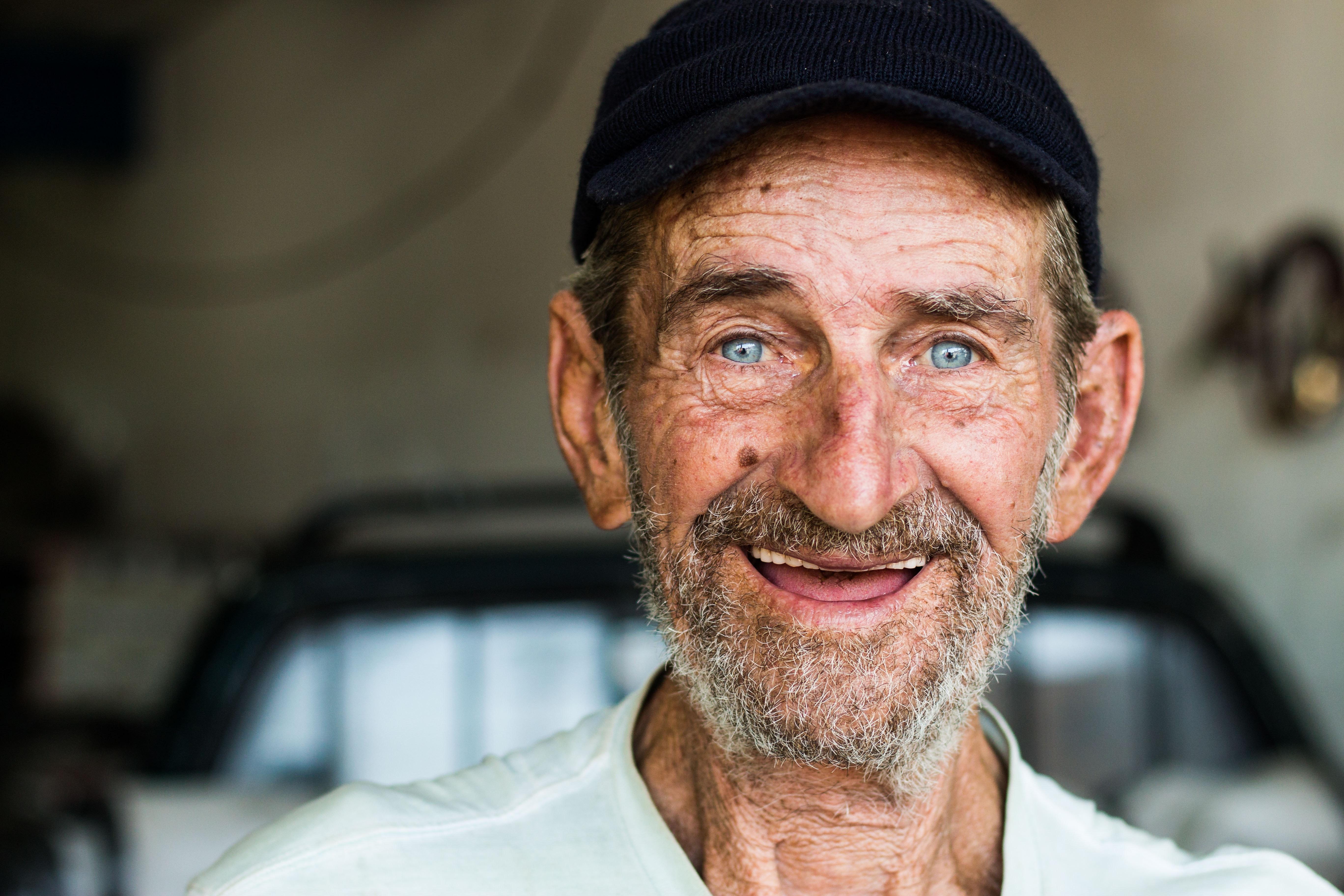 Free Images Actor Adult Beard Blue Eyes Blur Close Up Elder