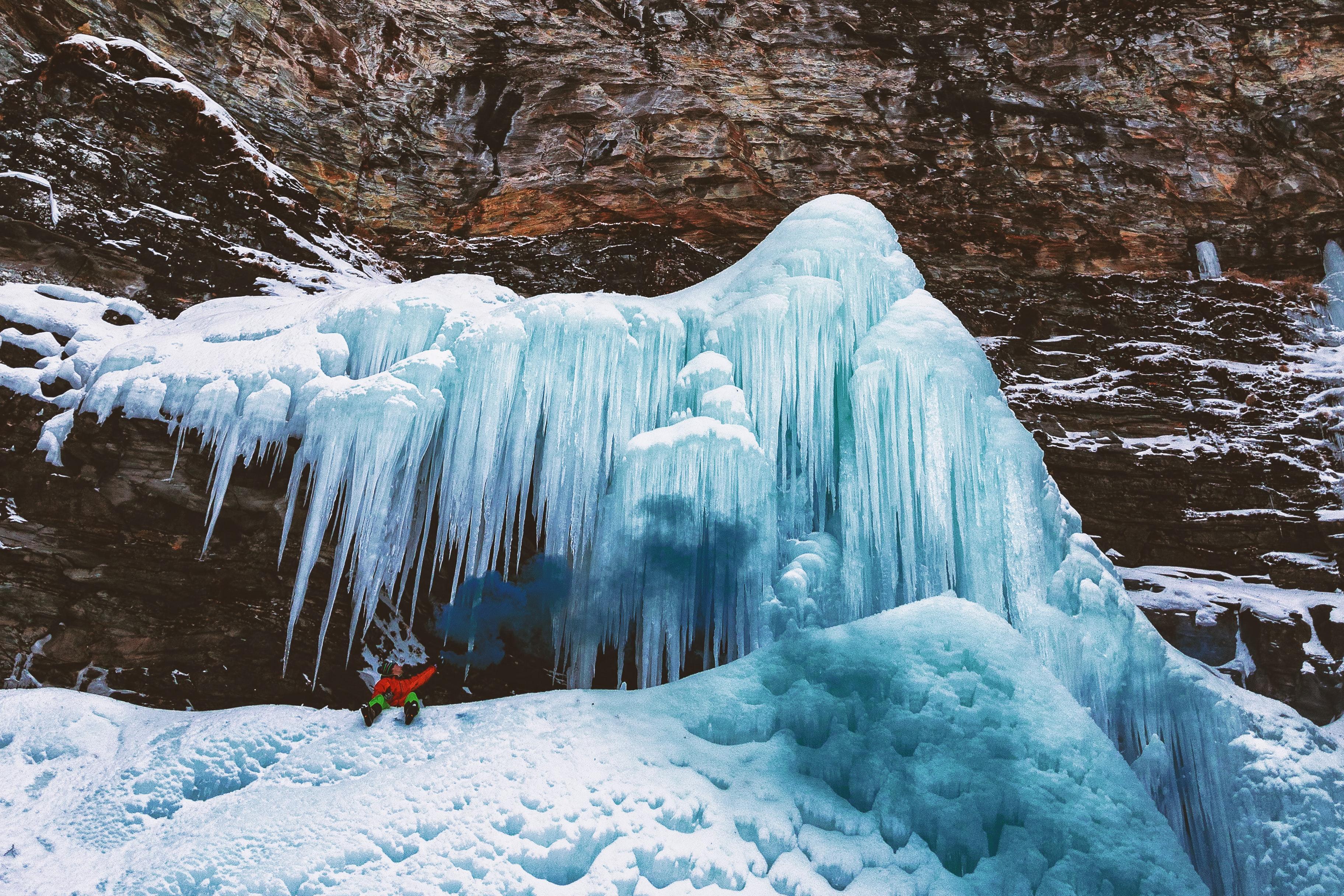 Free Images Adventure Climb Cold Desktop Wallpaper Frost