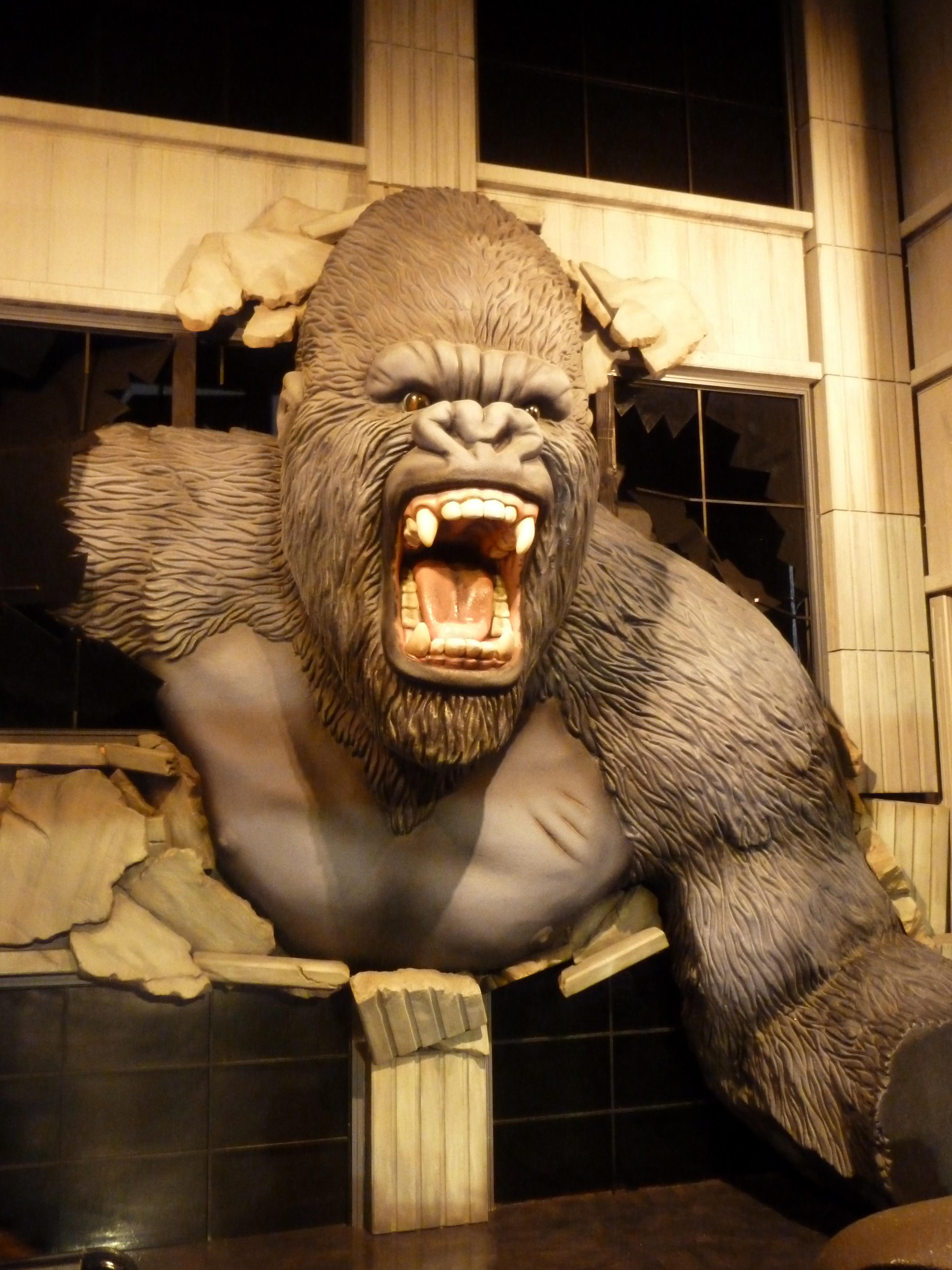 fotos gratis aventuras estatua primate gorila