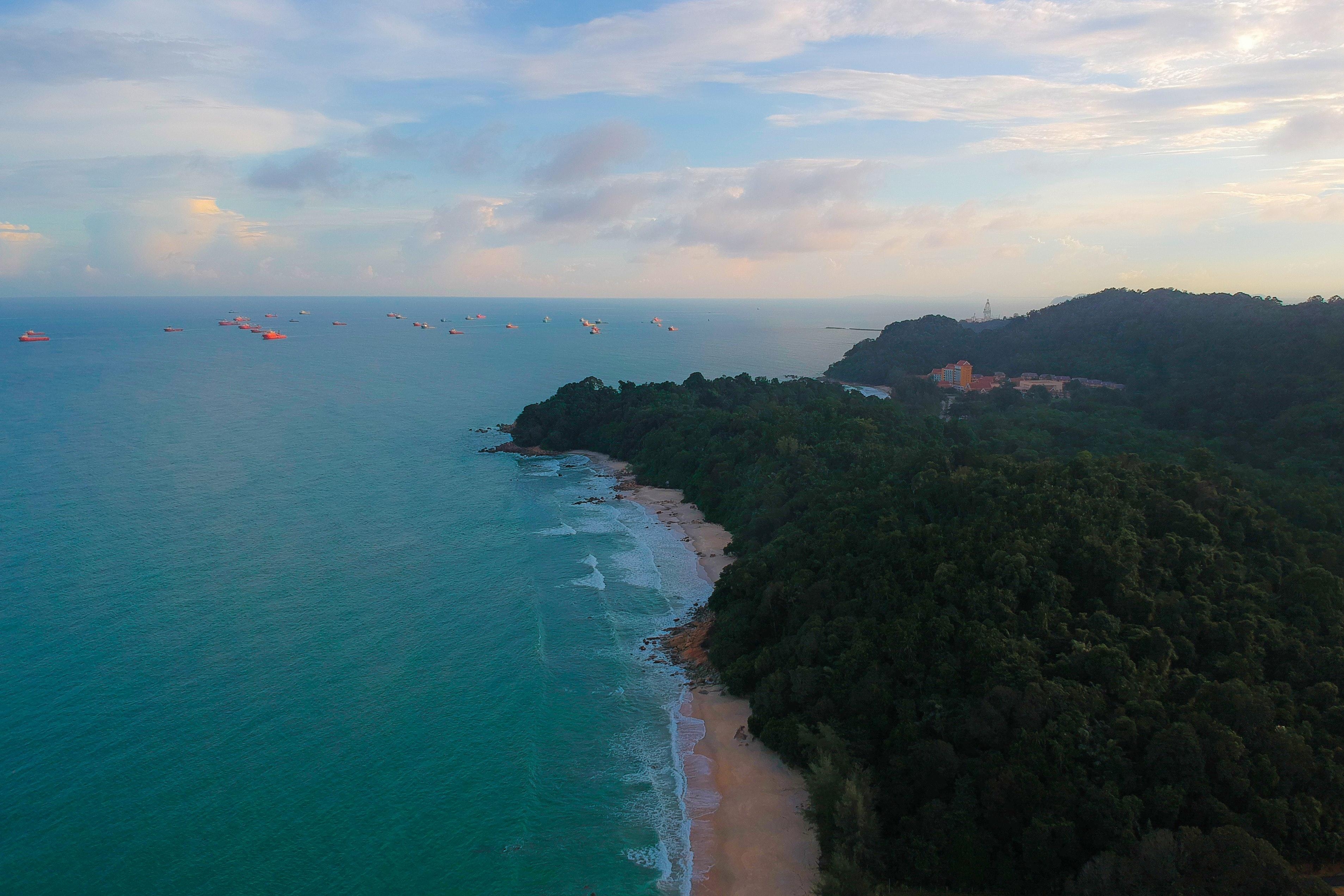 440 Koleksi pemandangan indah pantai sore hari HD Terbaik