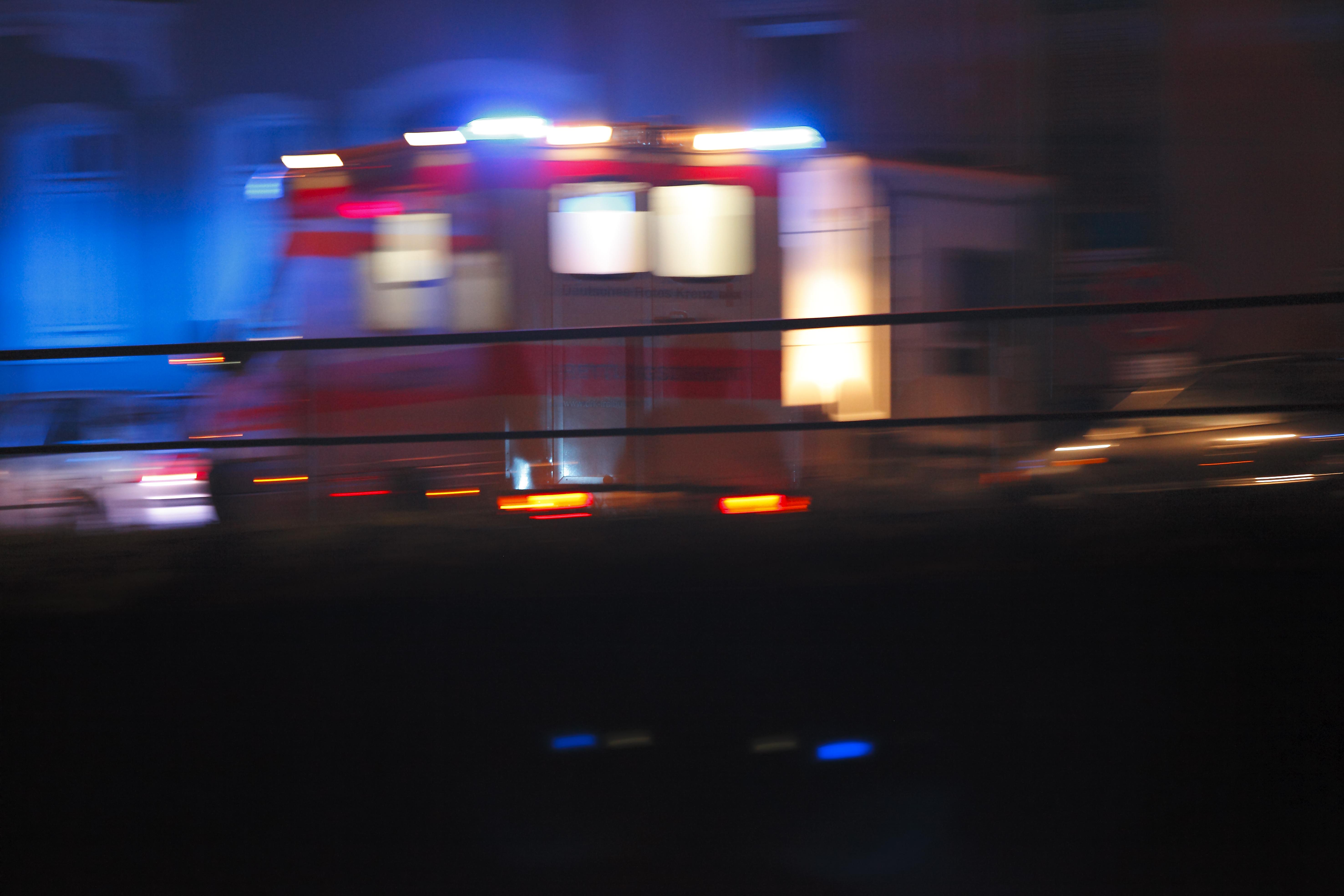 Free Images : ambulance, night lights, car, hurry, mode of