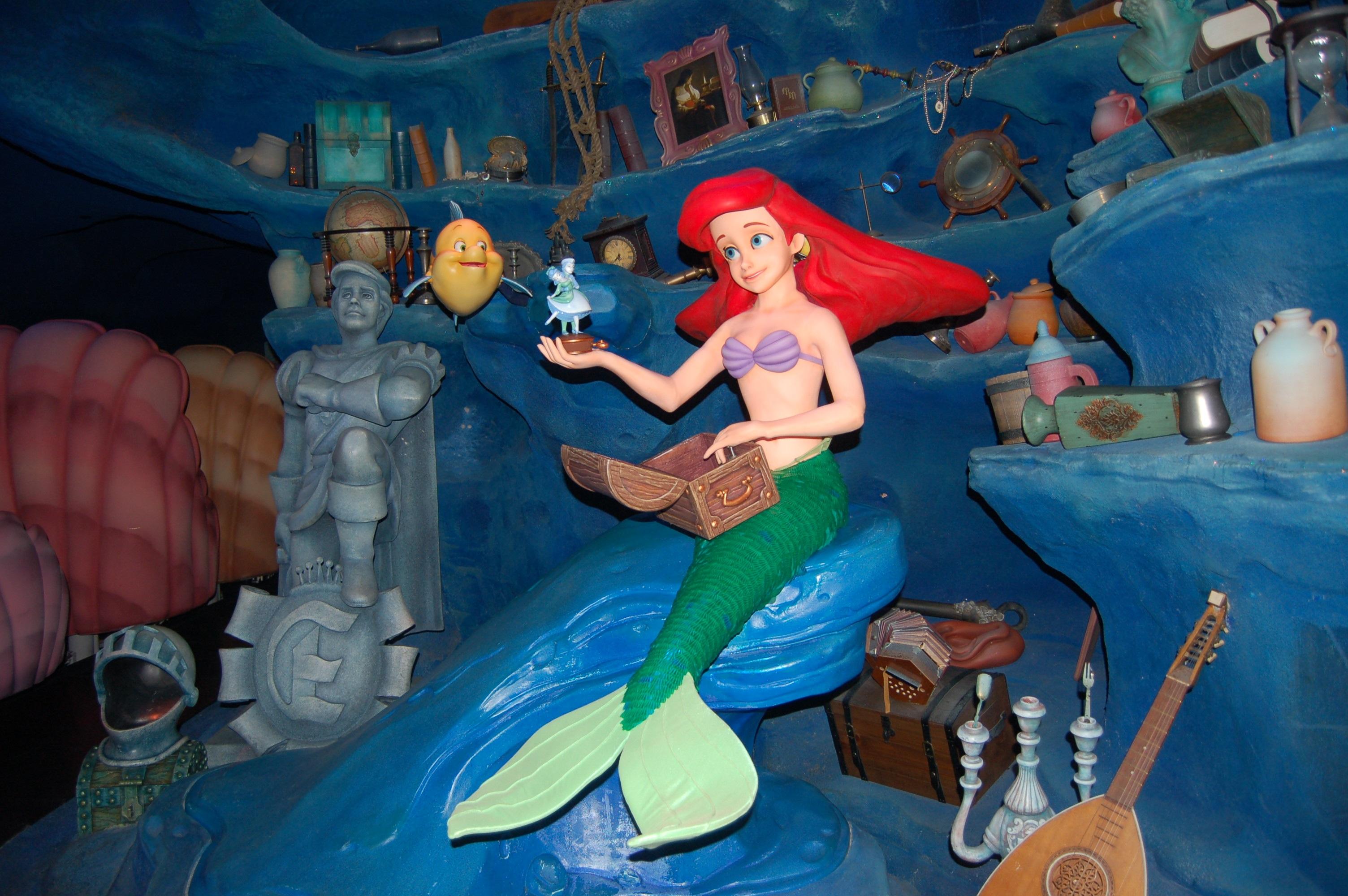 Принцесса-русалка: ночь развлечений