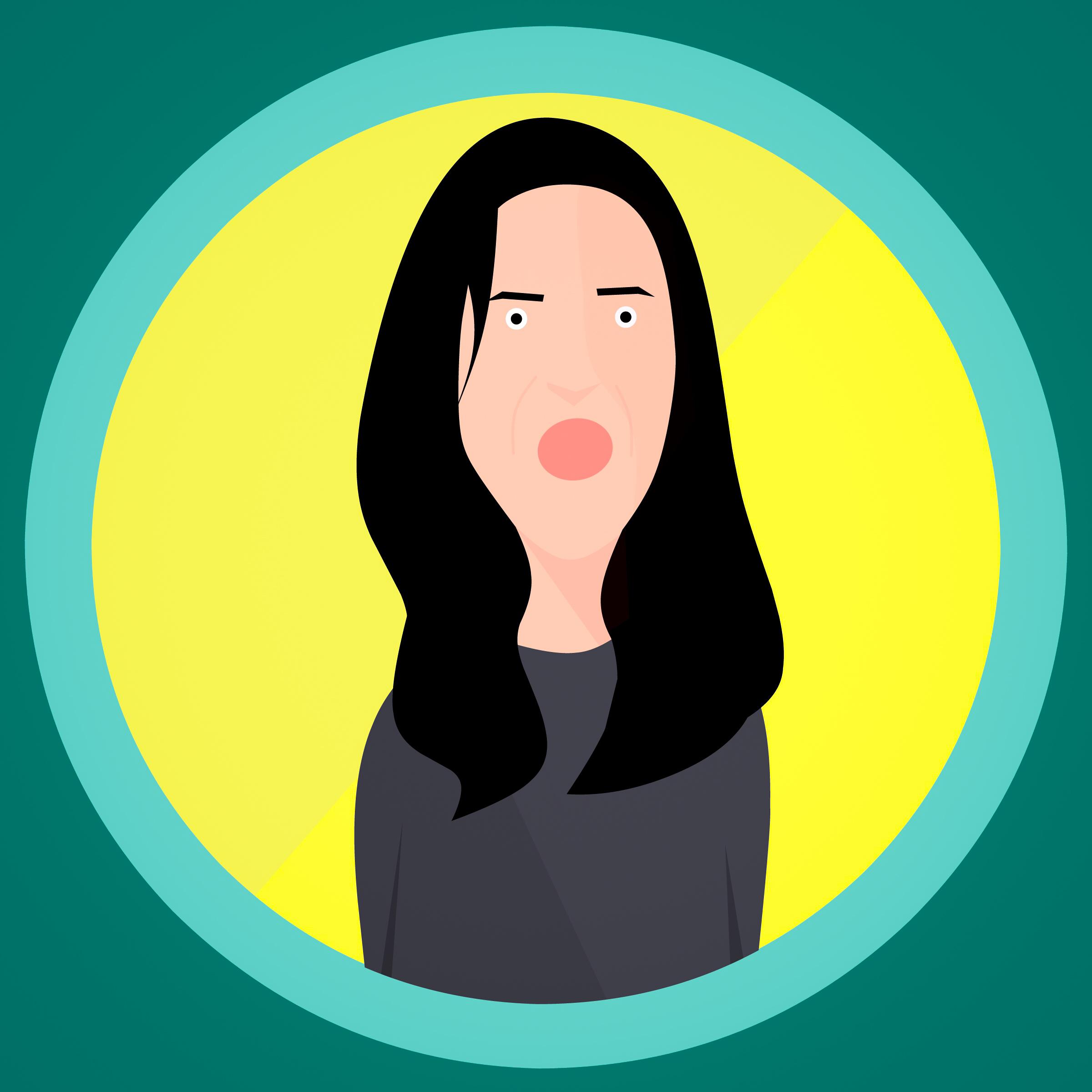 Gambar Marah Agresif Wanita Tingkah Laku Gambar Kartun