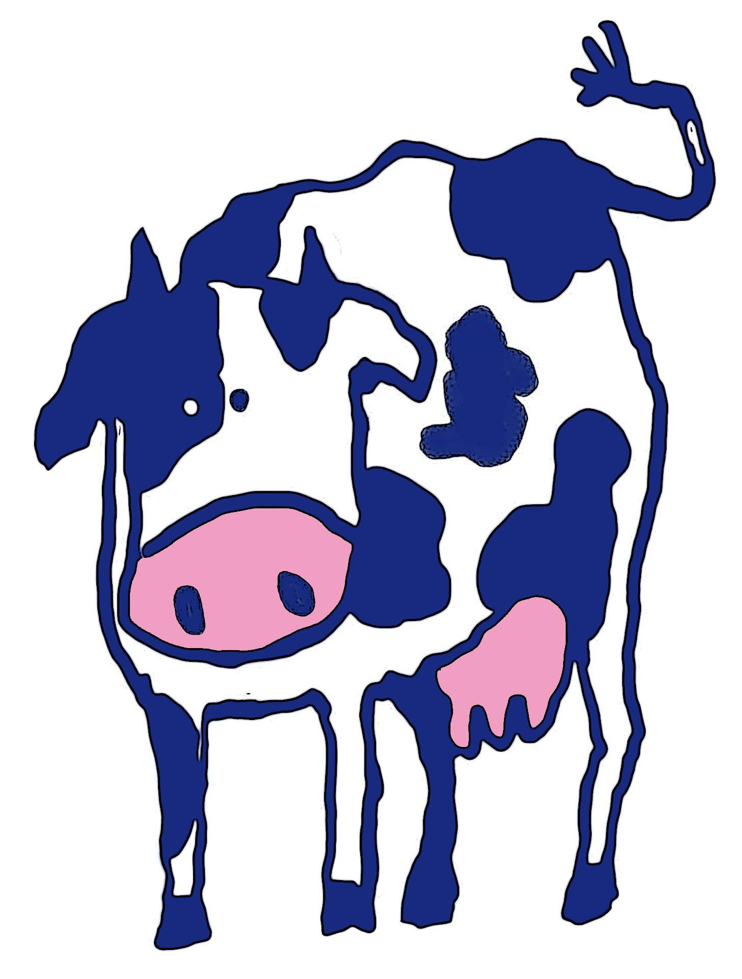 Fotos Gratis Ganado Pastar Azul Carne De Vaca Obra De Arte