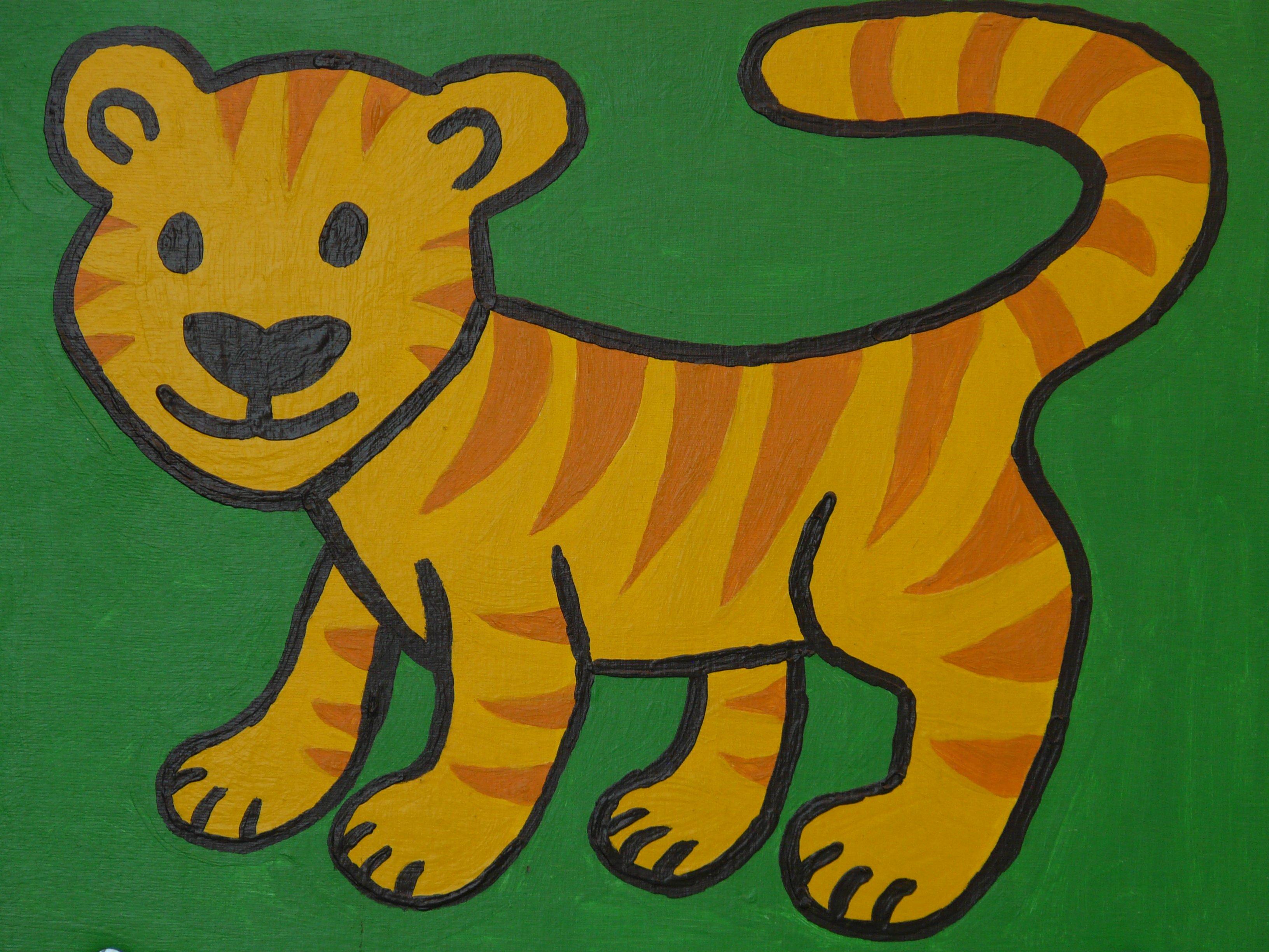 Kumpulan Gambar Hewan Harimau Kartun Paling Baru - Infobaru
