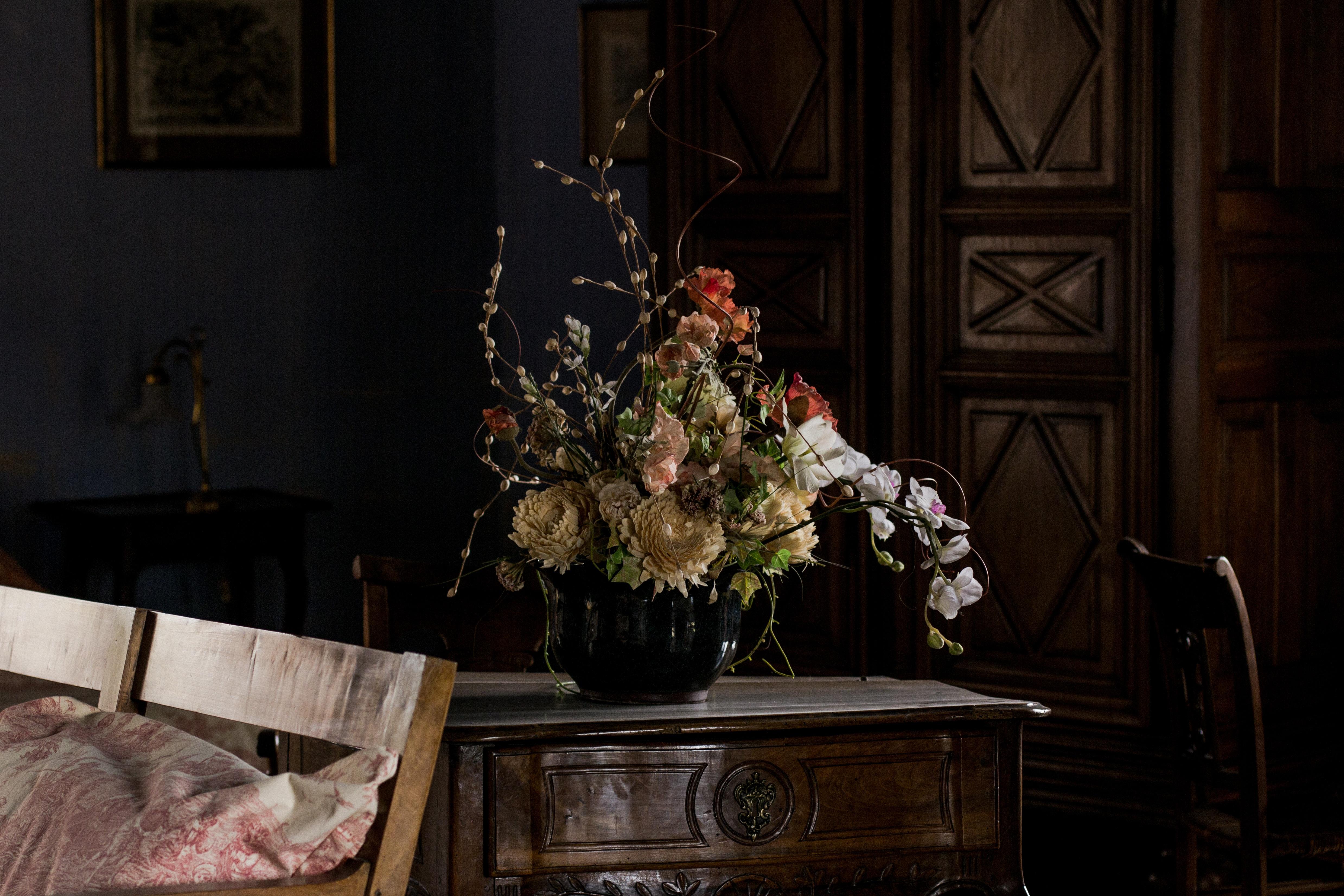 Images Gratuites Antique Fleur Interieur Maison Meubles