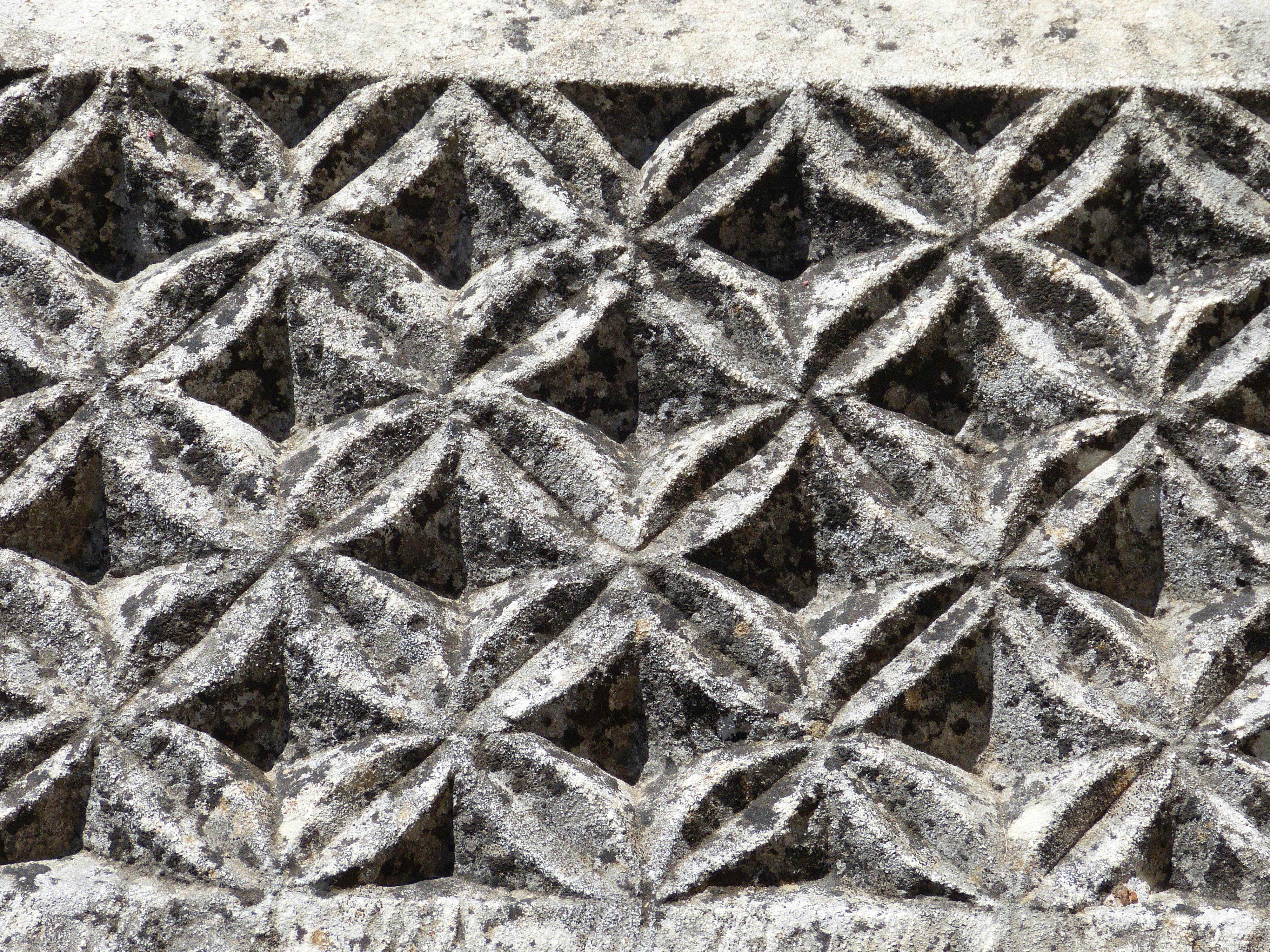 Fotos gratis : antiguo, escarcha, piedra, patrón, cordón, material ...