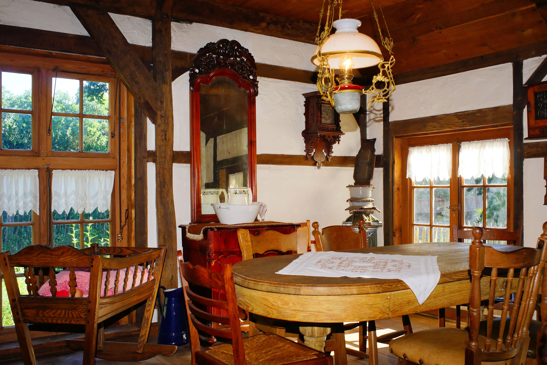 Antique House Building Restaurant Old Home Cottage Property Nostalgia  Living Room Furniture Room Still Life Interior