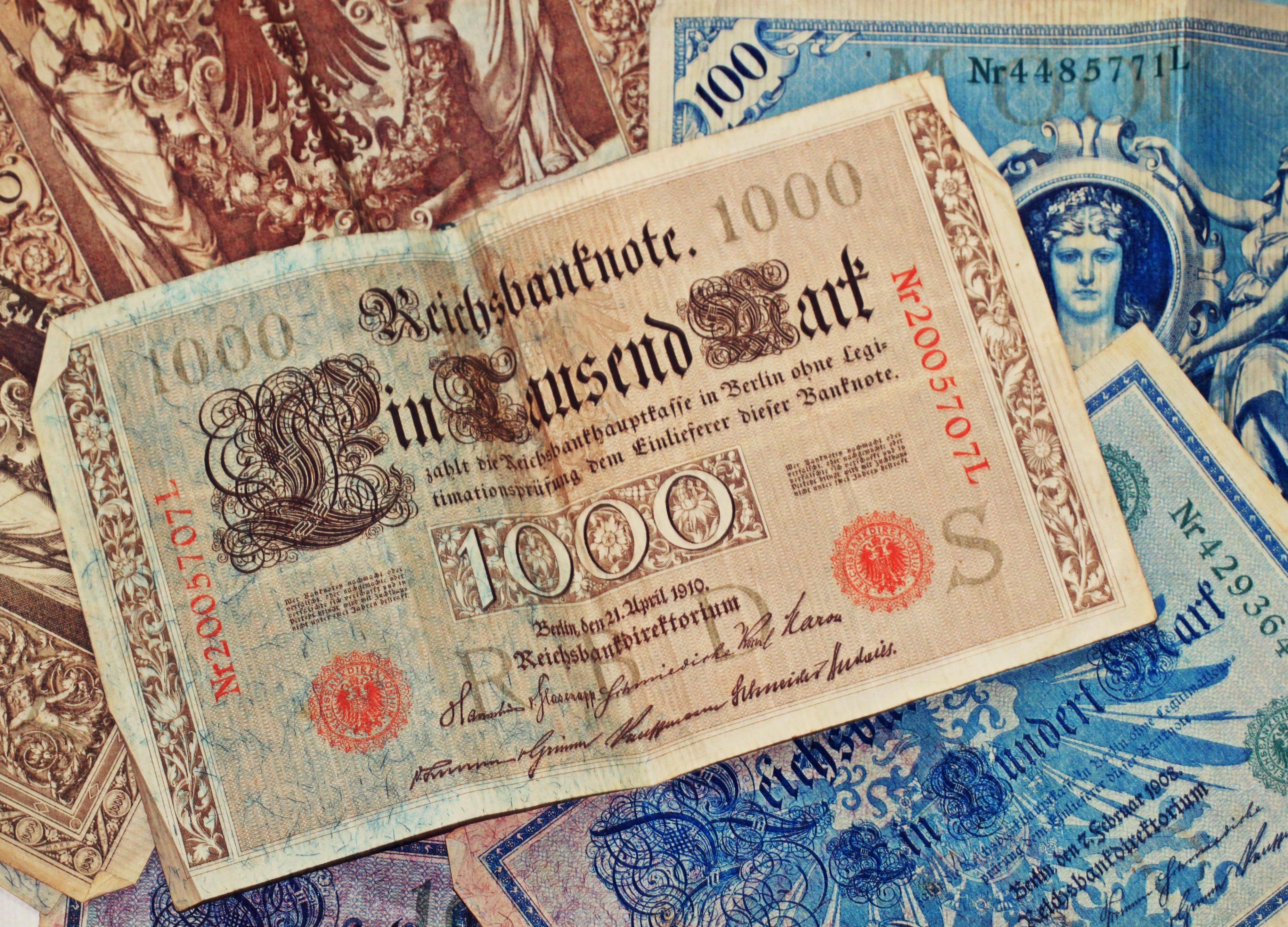 billet de banque traduction allemand