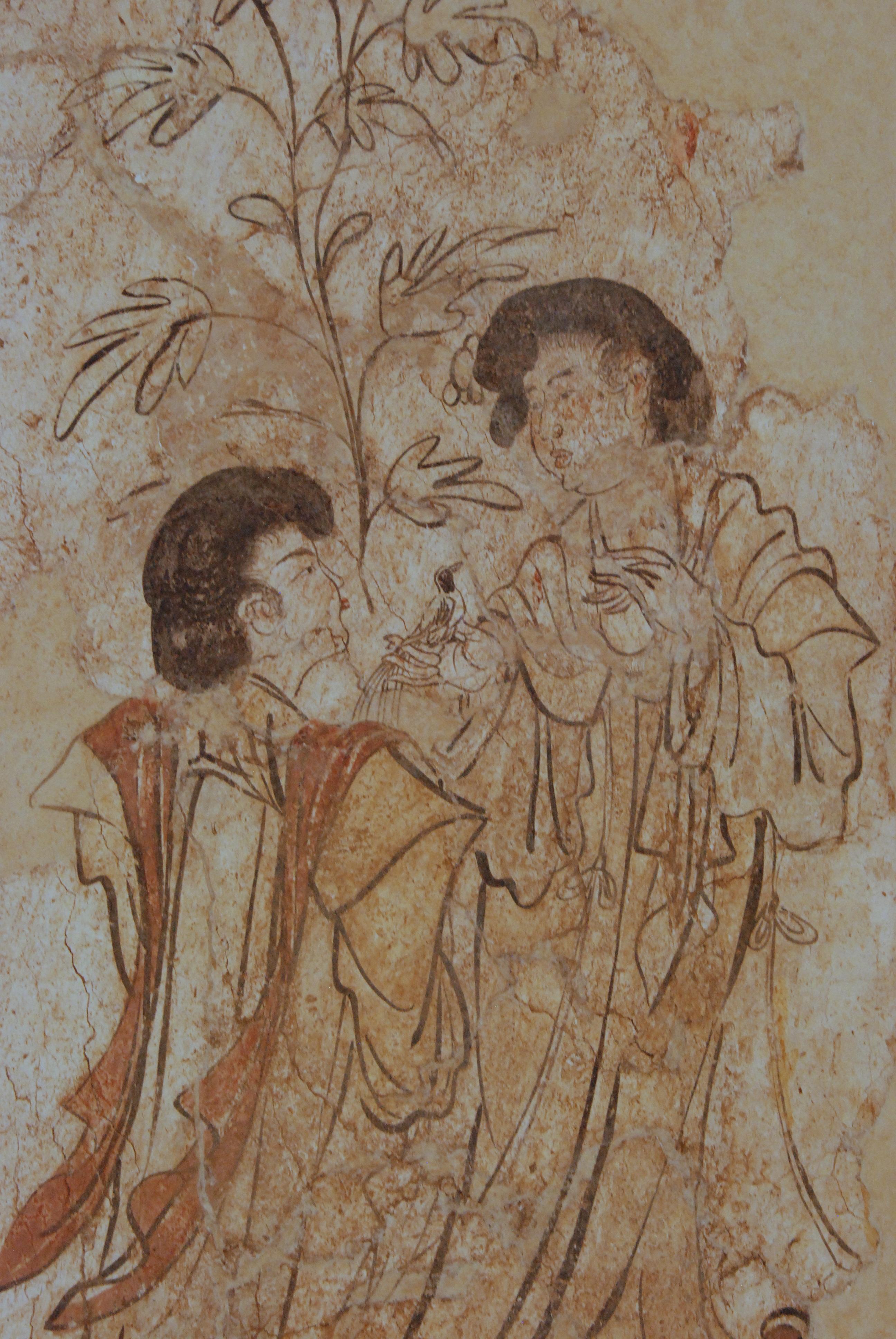 Images gratuites antique la peinture esquisser dessin for Dessin mural peinture