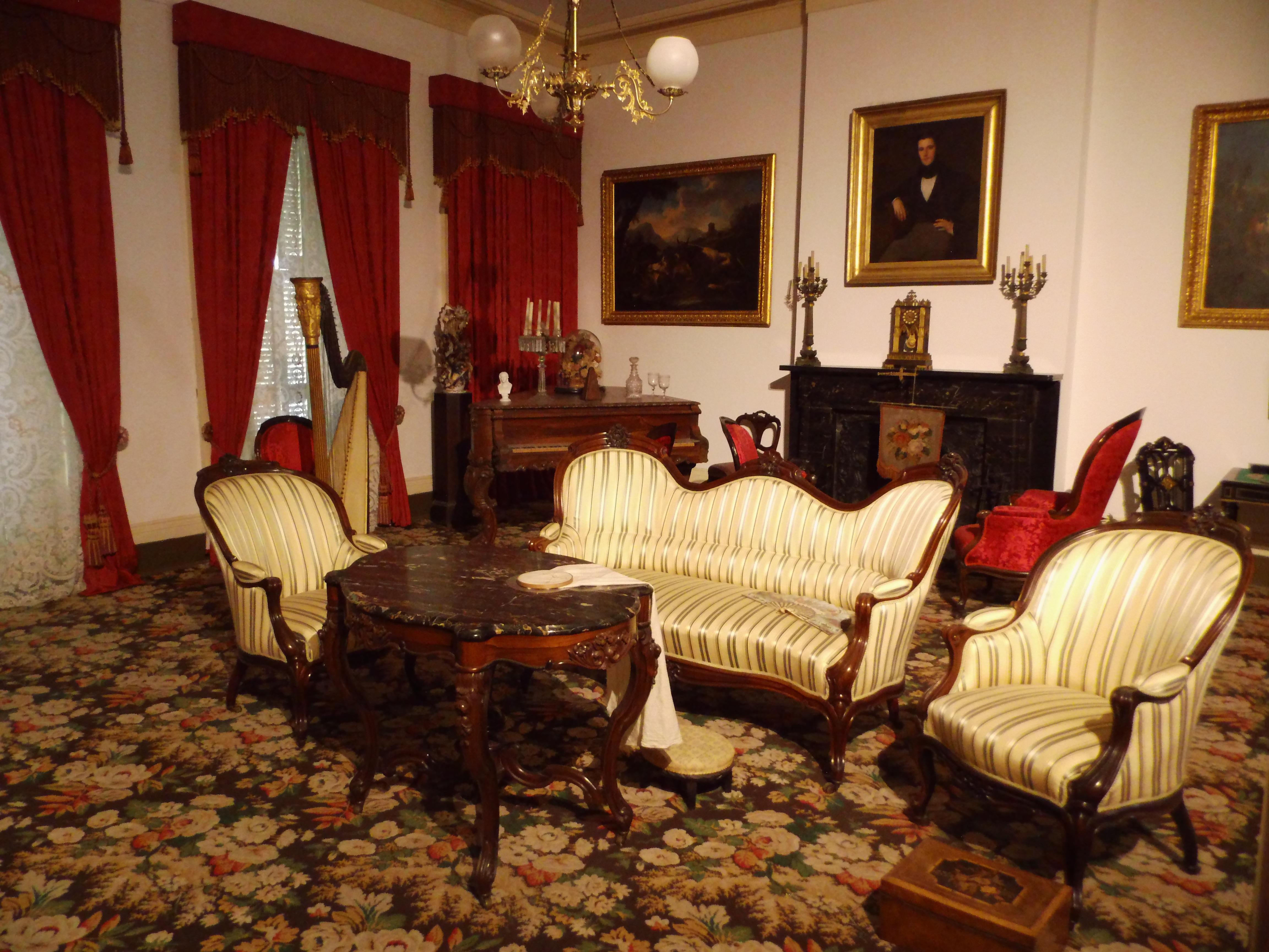 Gambar Antik Vila Rumah Besar Pedalaman Tua Museum Pondok