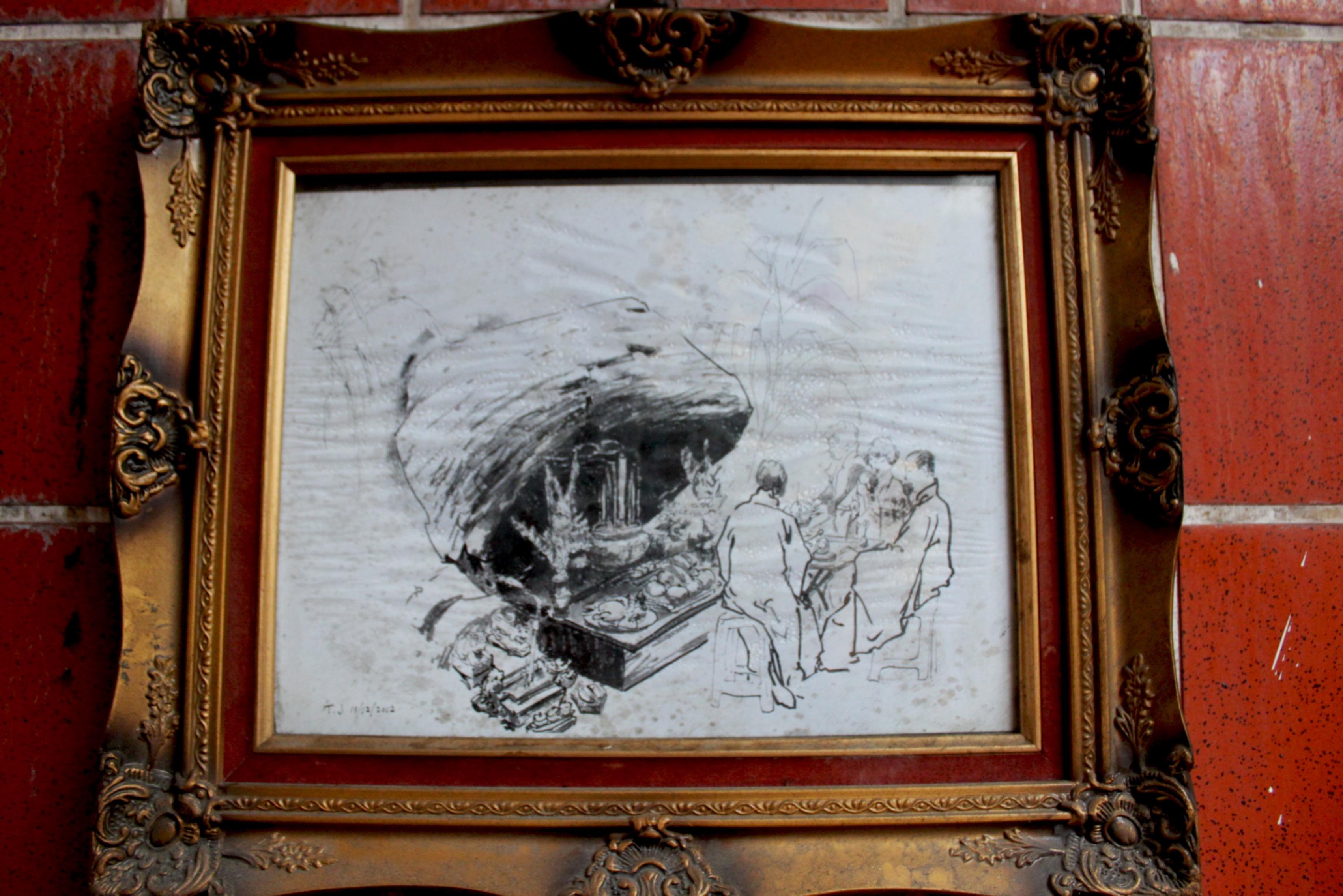 Kostenlose foto : Antiquität, Fenster, Malerei, Kunst, Bilderrahmen ...