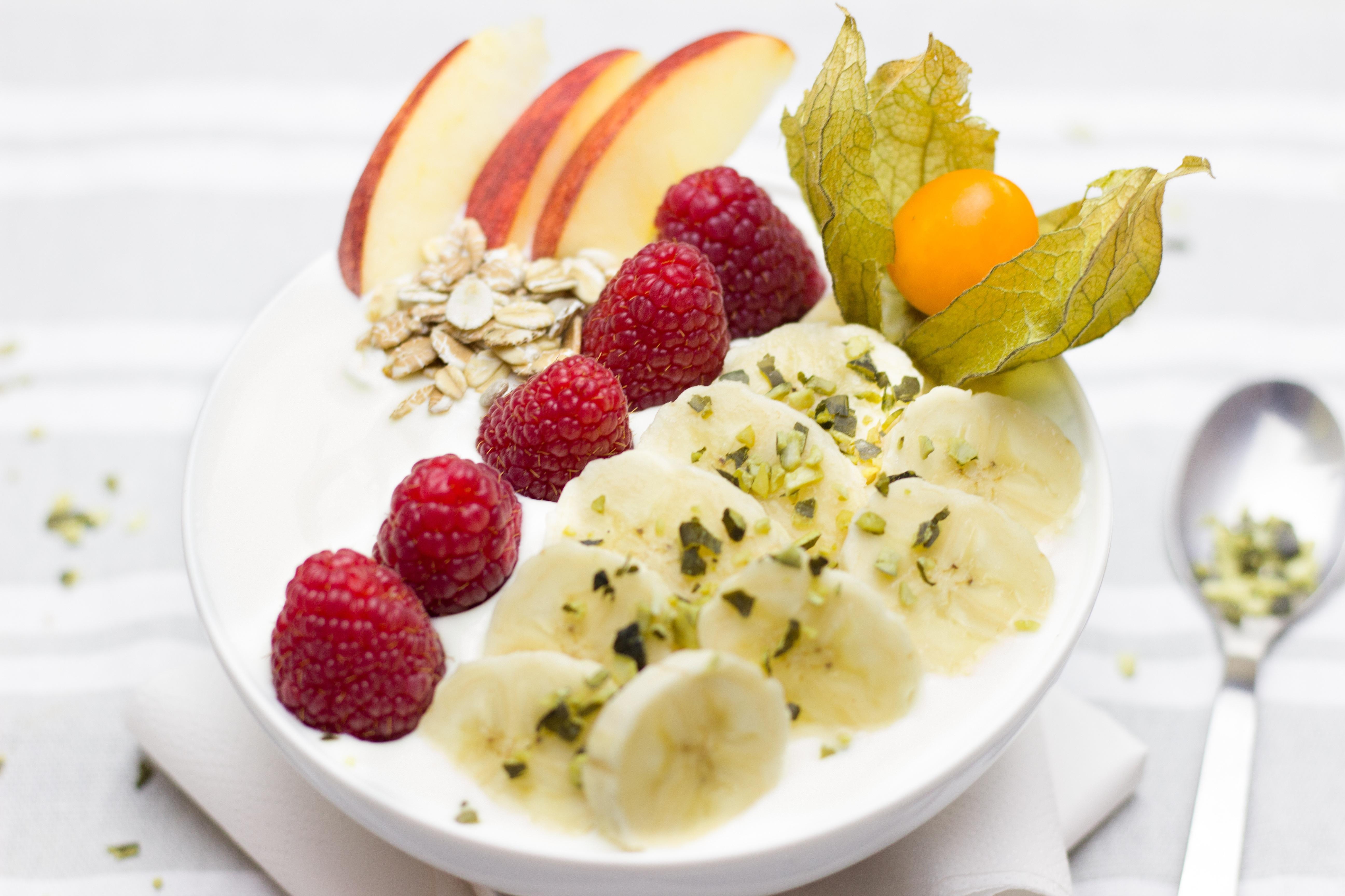 Meyveli Diyet Yoğurt