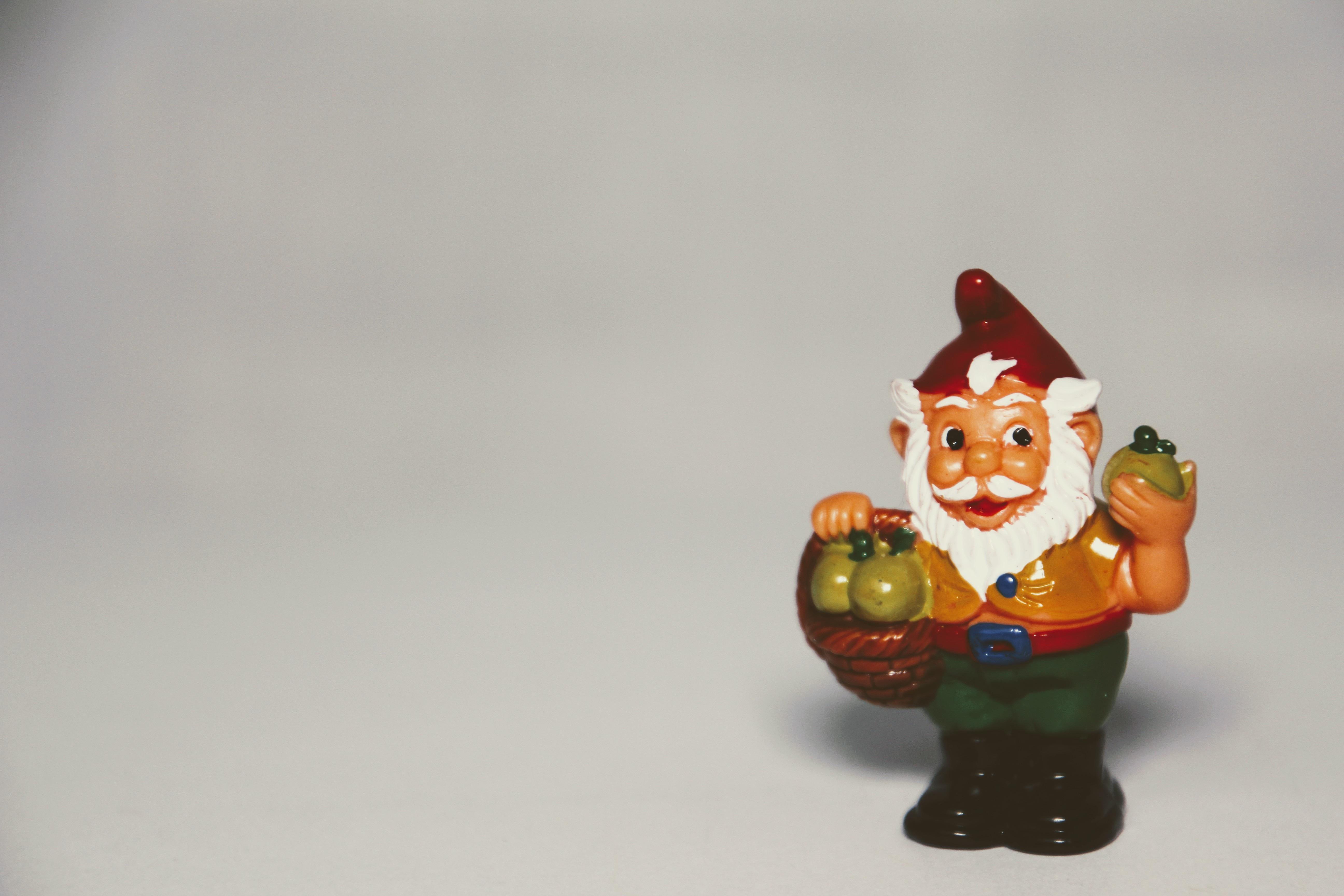 Images Gratuites Pomme Fruit Jouet Figurine Nain De Jardin