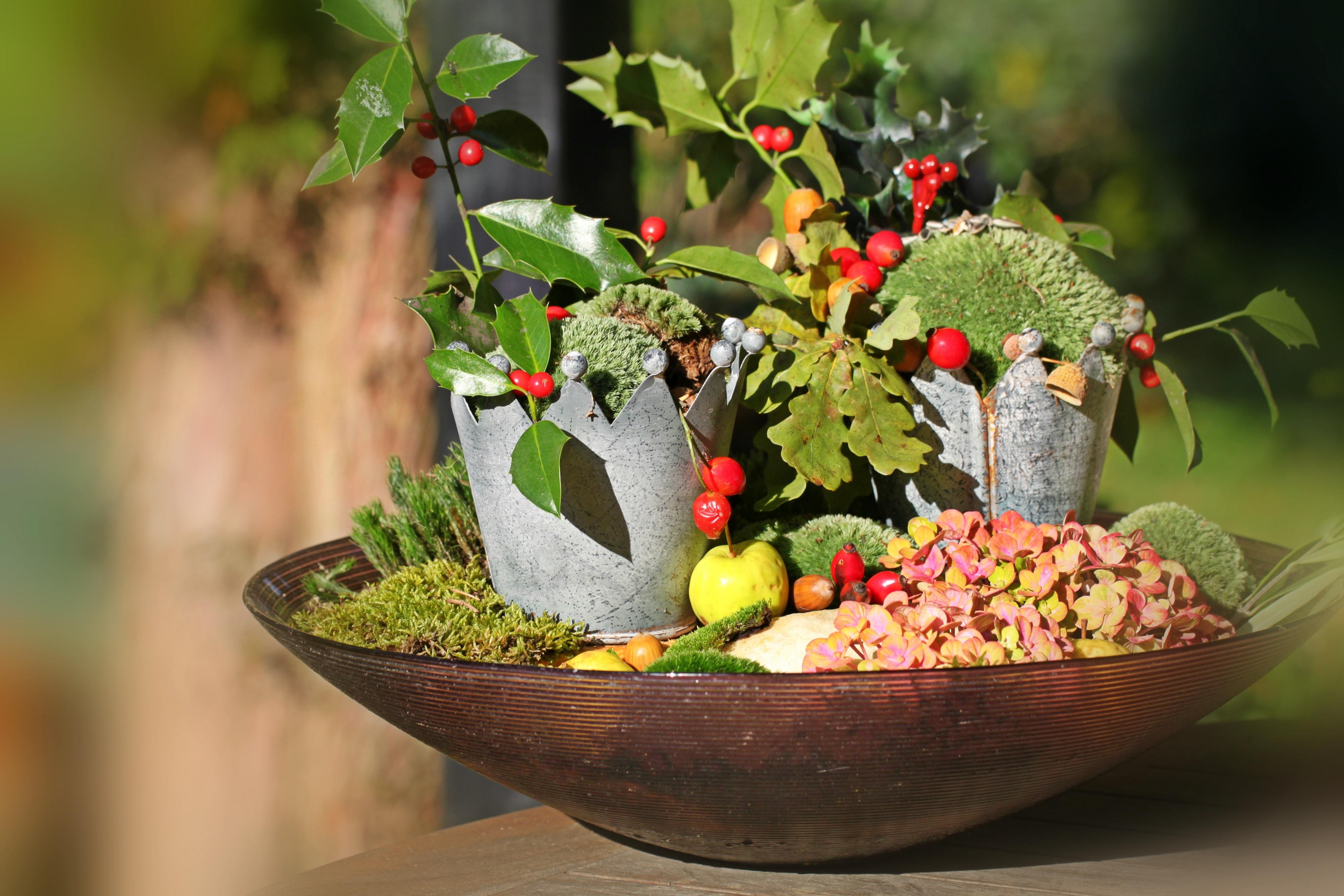 Frisch Gartendeko Herbst Design