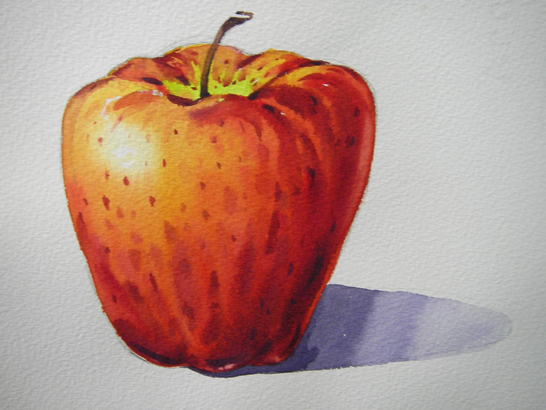 Fotoğraf Elma Meyve çiçek Gıda Kırmızı üretmek Sebze Boyama
