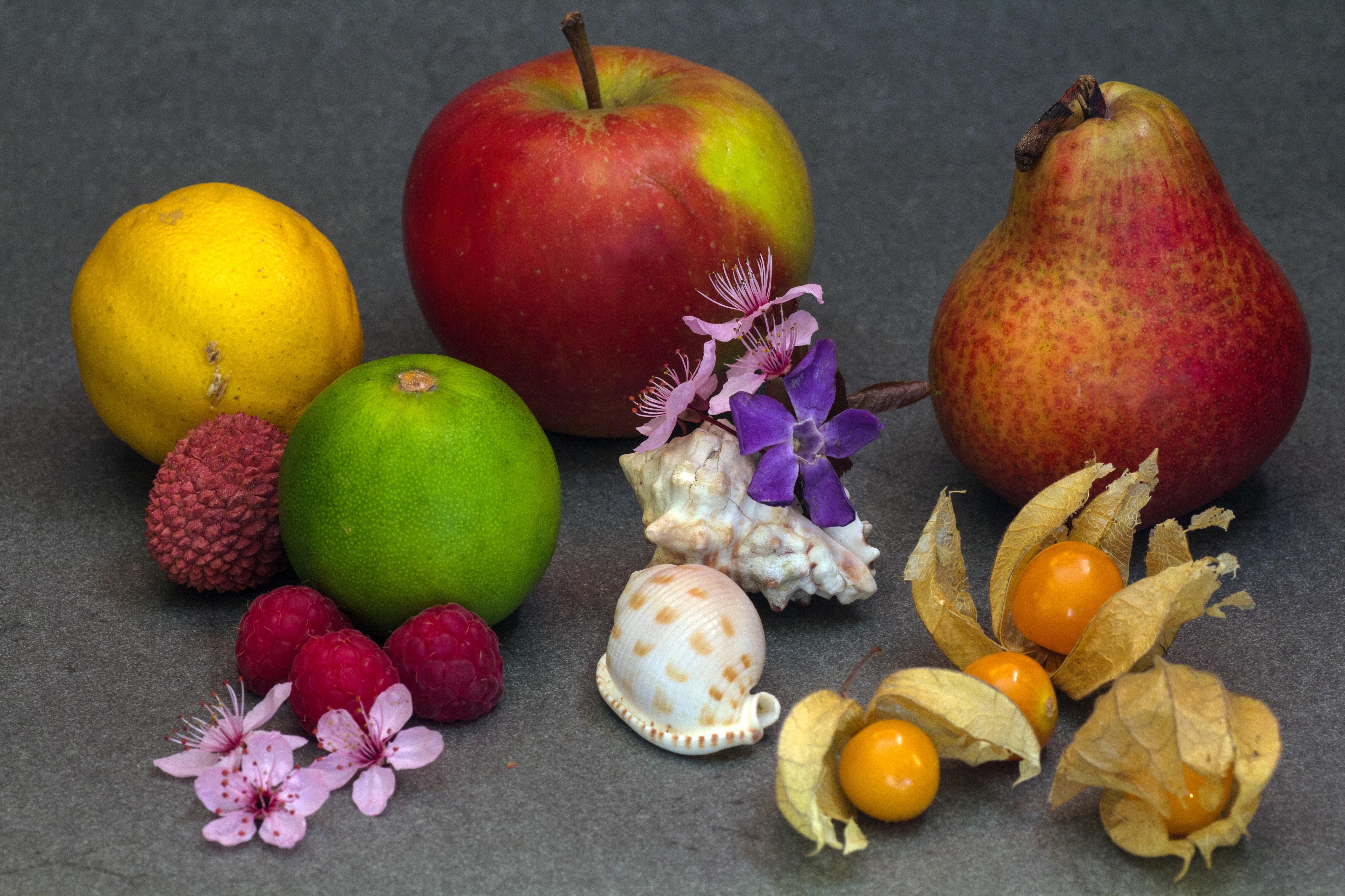 Fotoğraf Elma Meyve Gıda üretmek Armut Boyama Misket Limonu