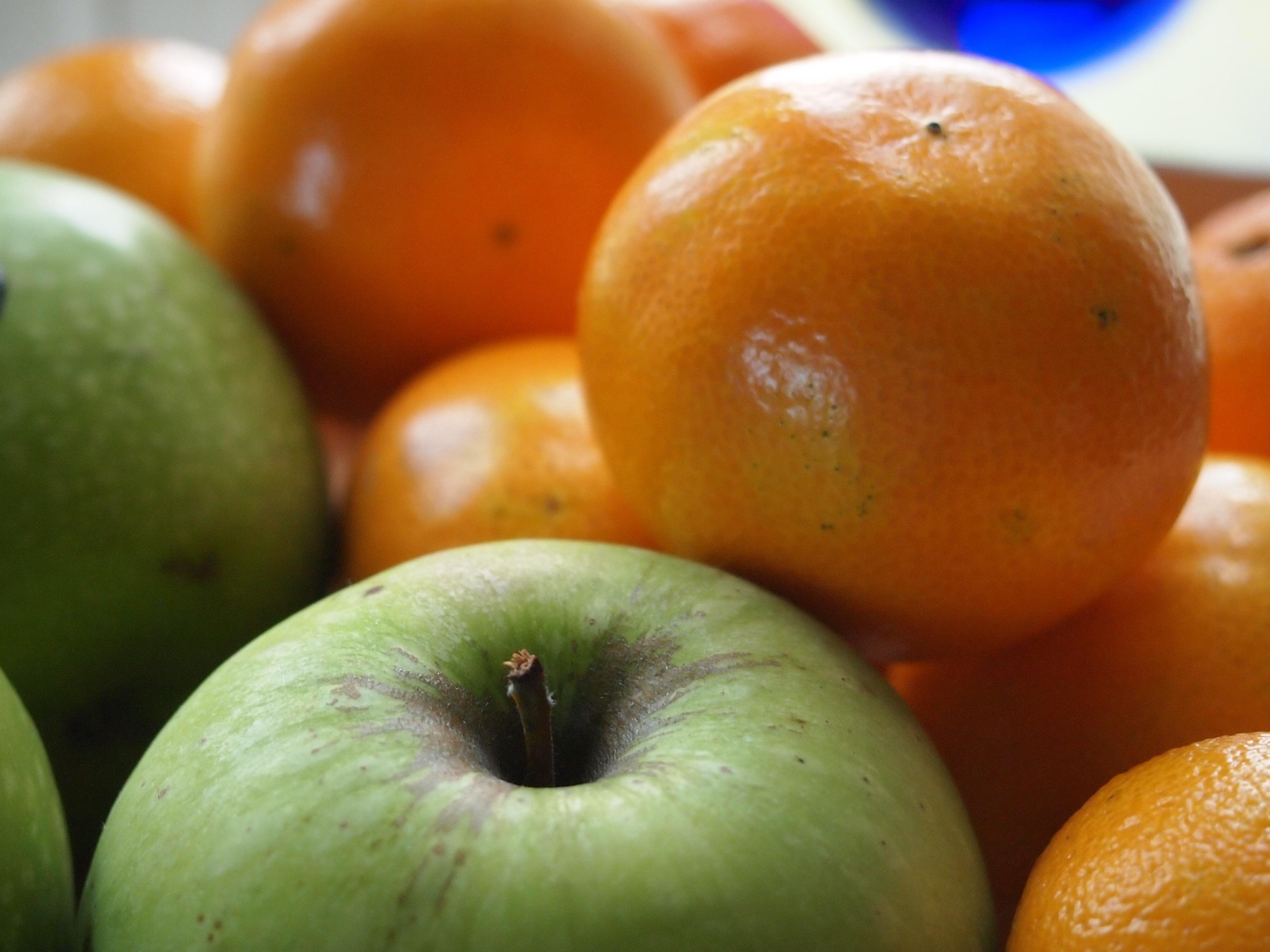 яблоко и апельсин в одной картинке усилий нужно, только