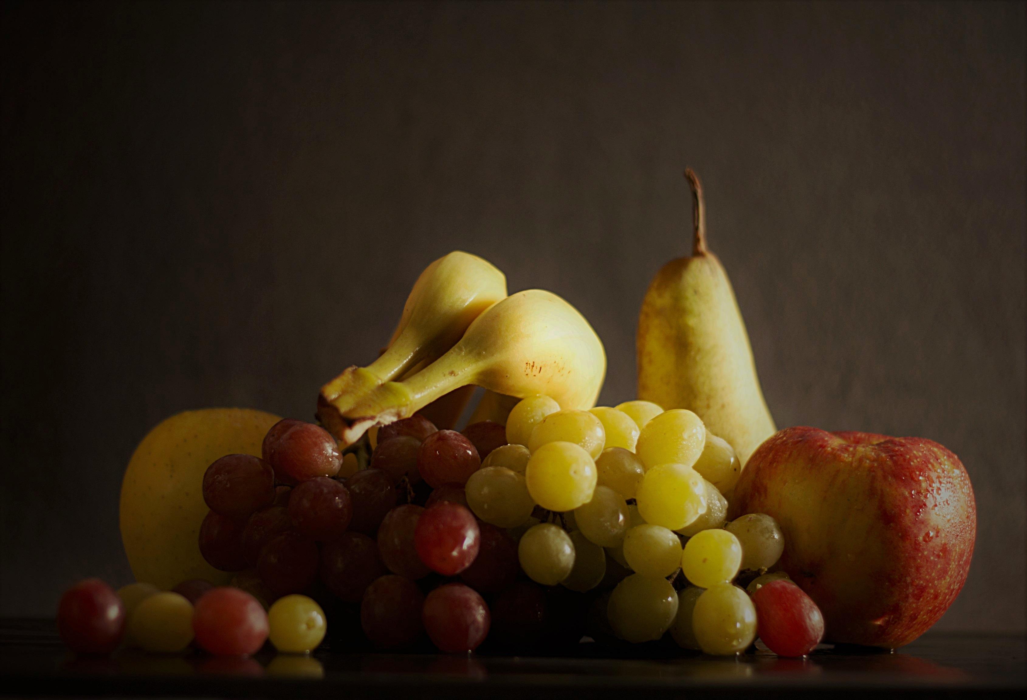 Fotoğraf Elma üzüm Meyve Gıda üretmek Muz Sağlıklı Boyama