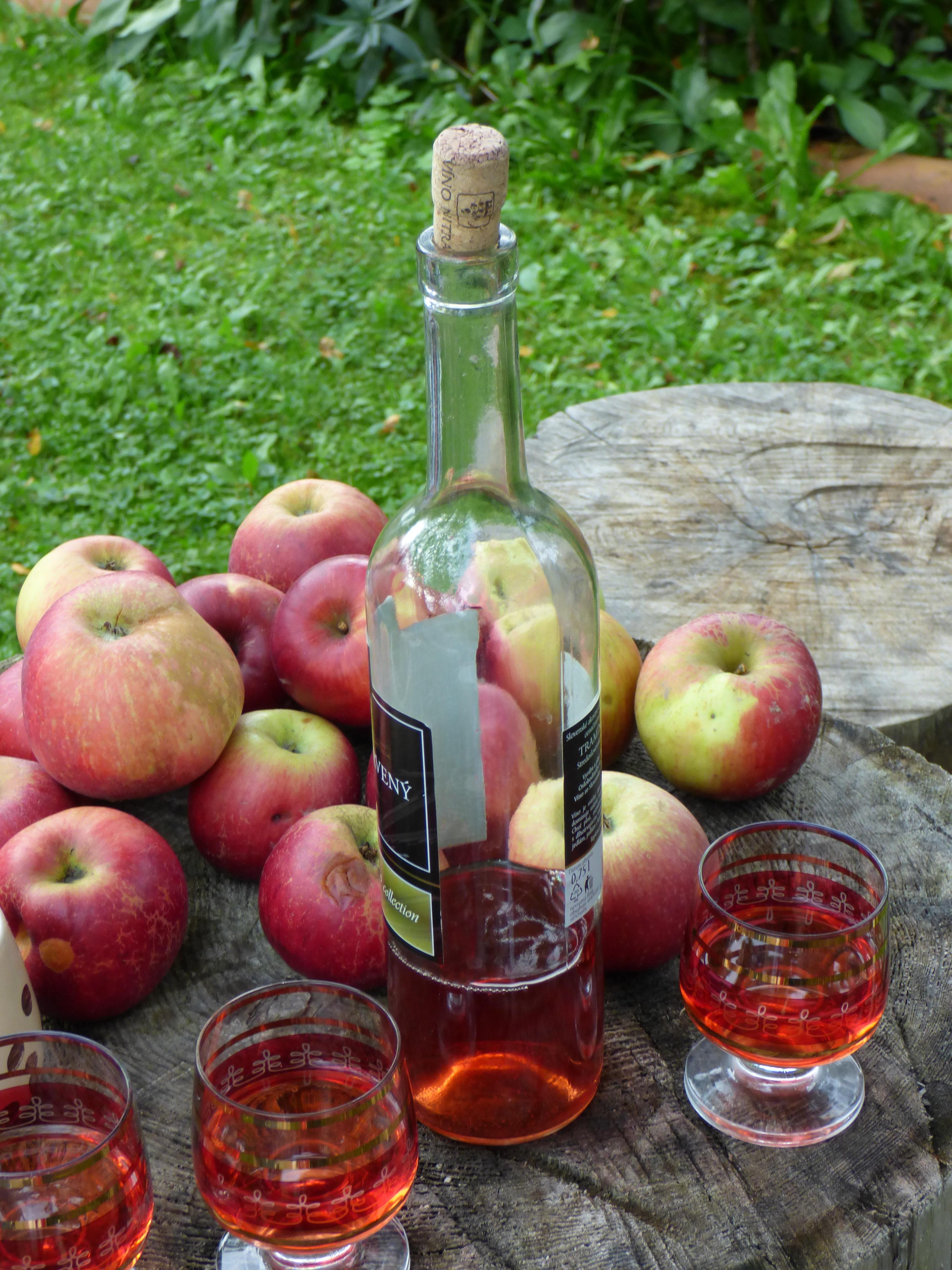 вино из яблок в картинках открытка надписью