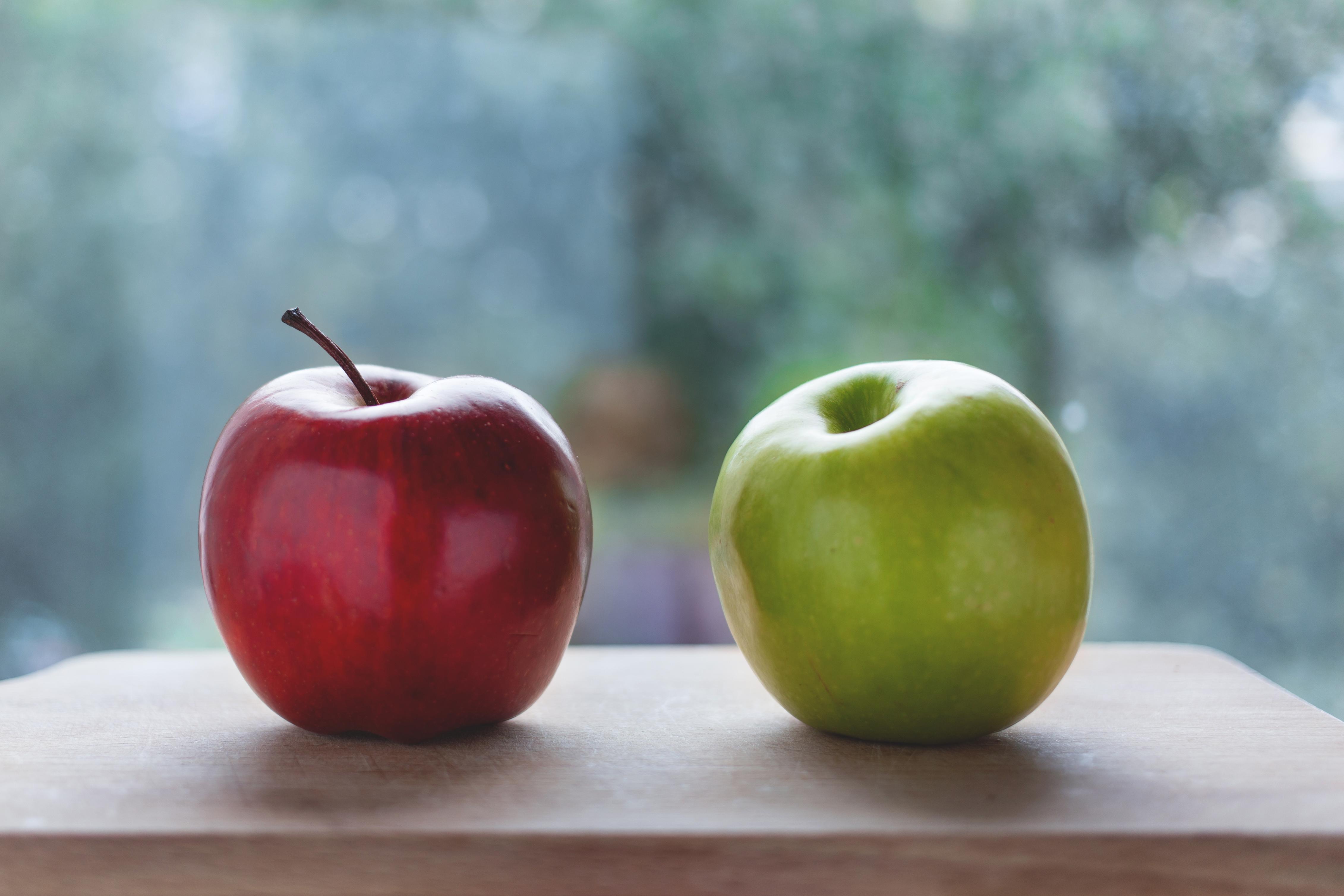 Fotos gratis : manzana, mesa, Fruta, dulce, comida, rojo, Produce ...