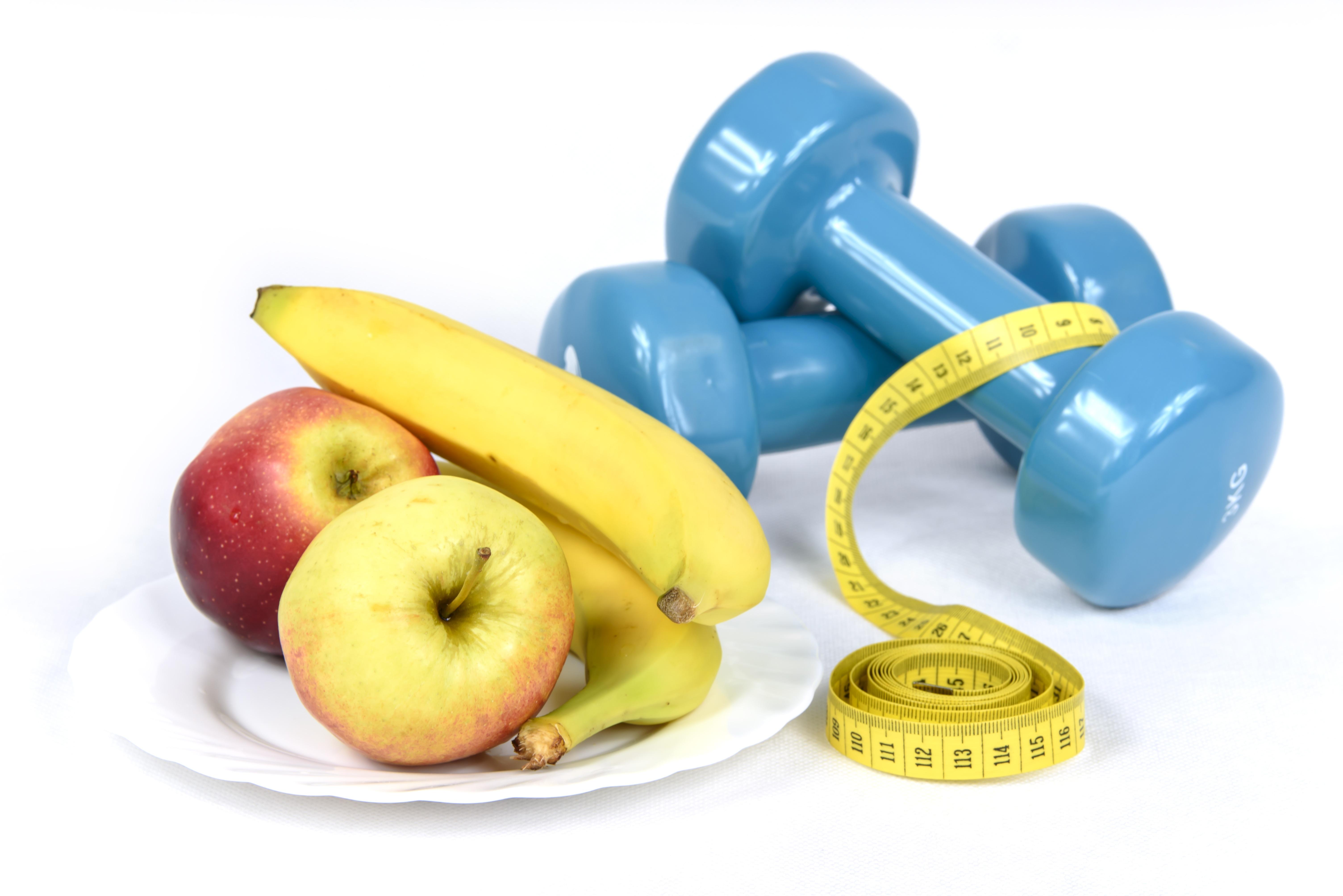 Fotos gratis manzana blanco deporte tr fico fruta for Dieta gimnasio