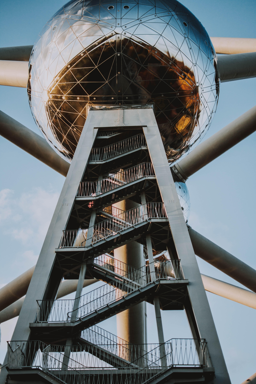 Fotos Gratis Arquitectónico Arquitectura átomo Bruselas