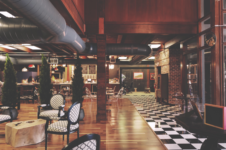 Kostenlose Foto Die Architektur Bar Gebäude Stühle Handel