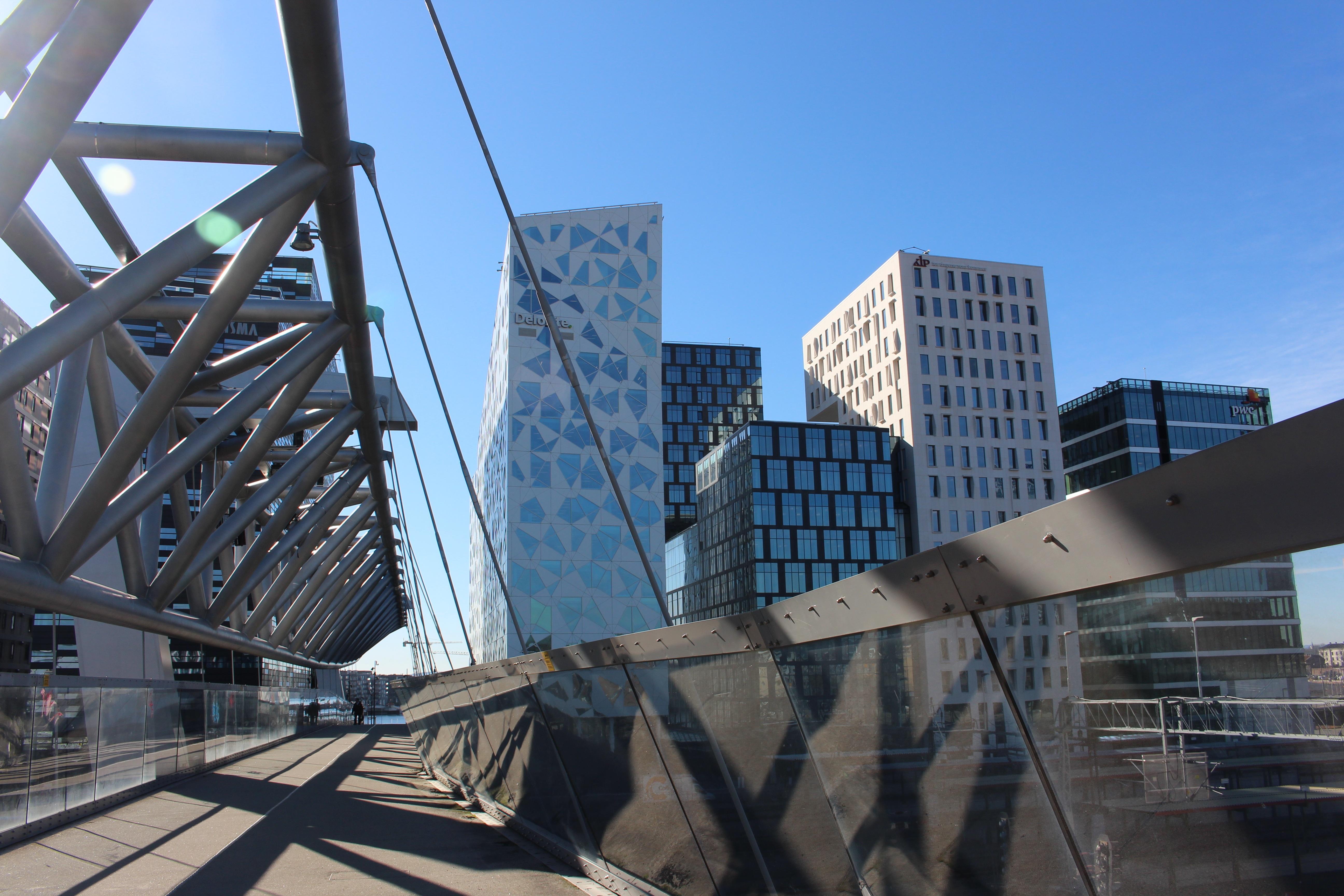 Fotos gratis : arquitectura, puente, edificio, rascacielos, centro ...