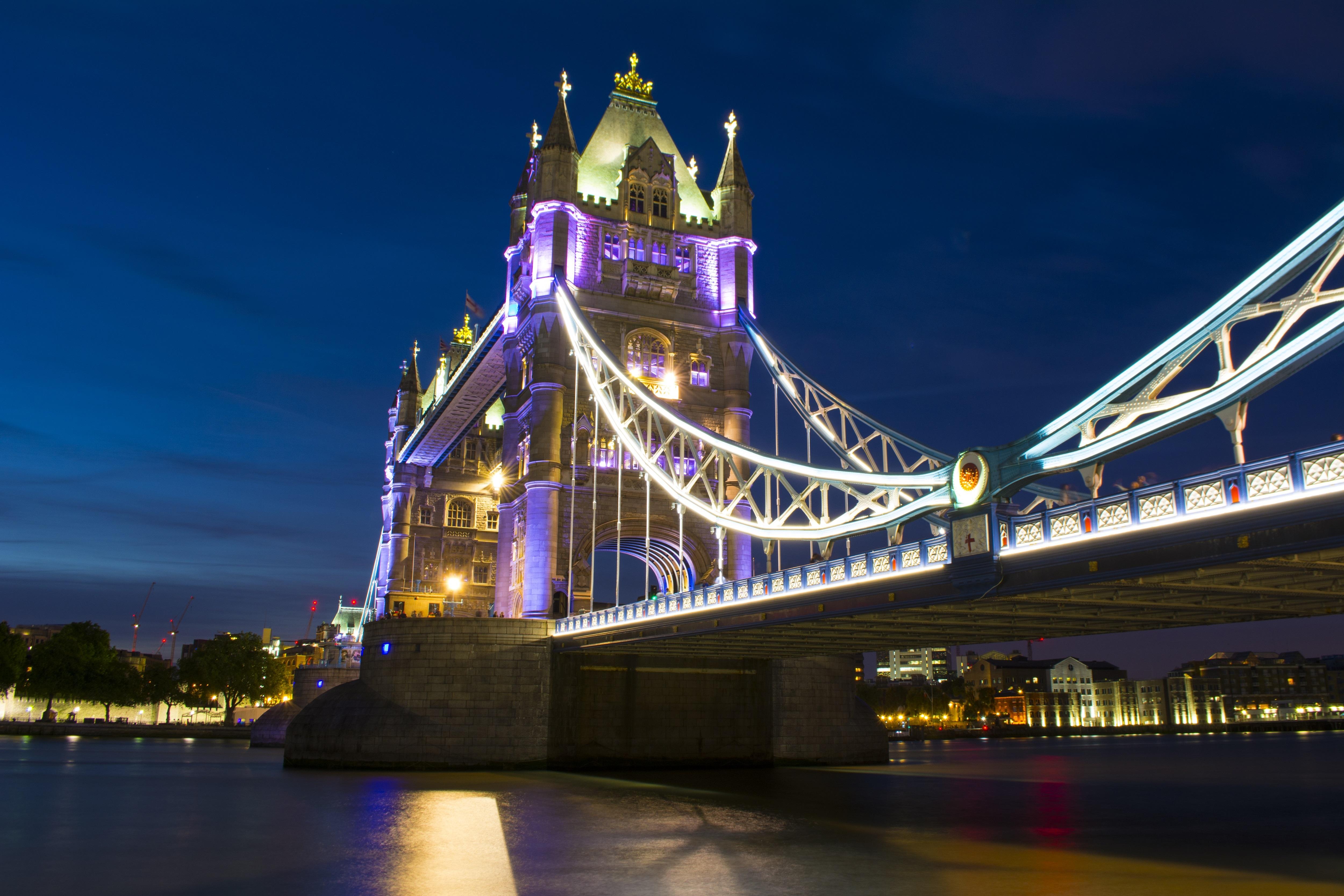 Images Gratuites Architecture Pont Nuit Rivi 232 Re