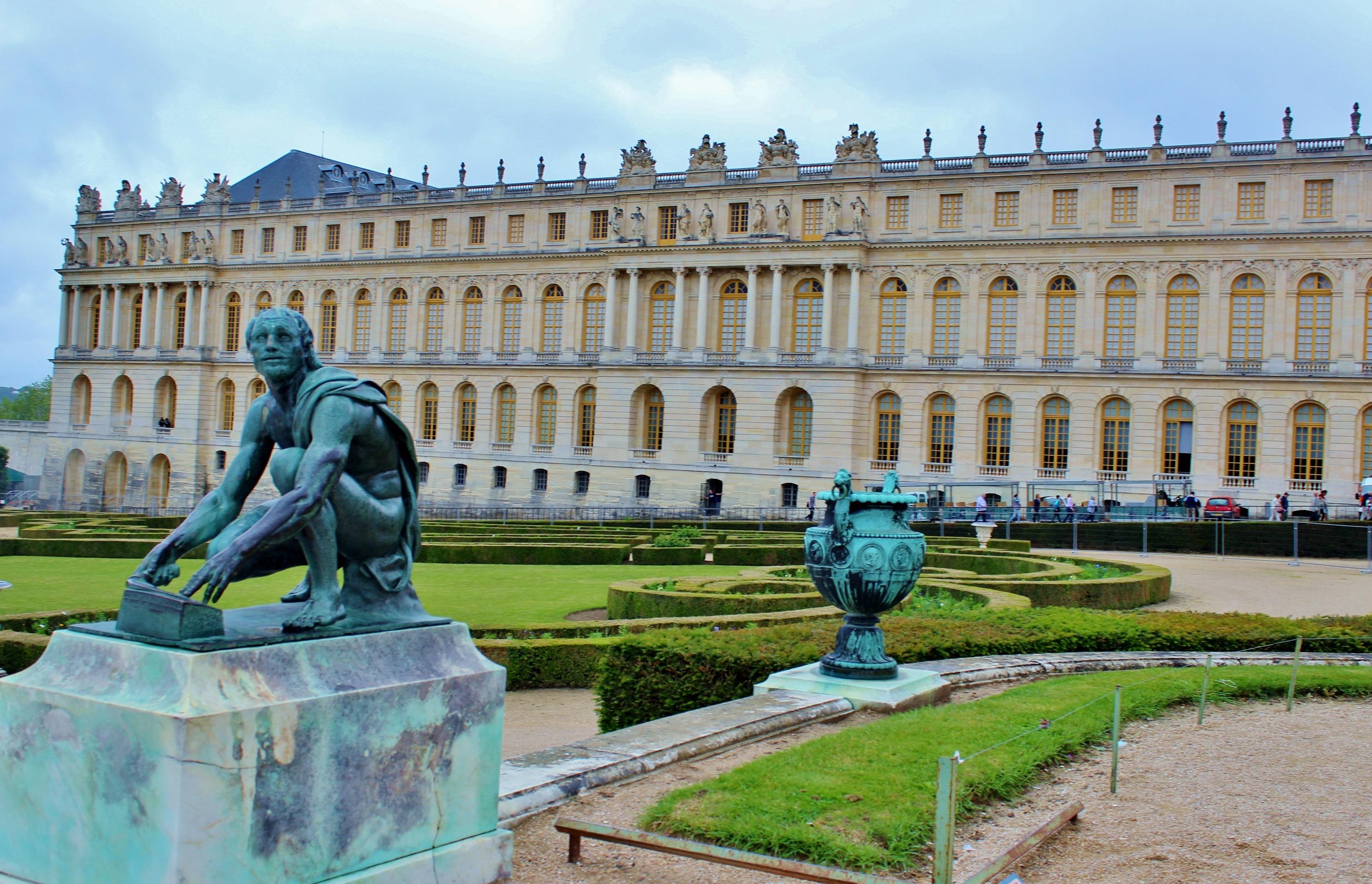arkitektur bygning chateau slott paris monument Frankrike statue plaza landemerke historisk turisme historie torget berømt historisk