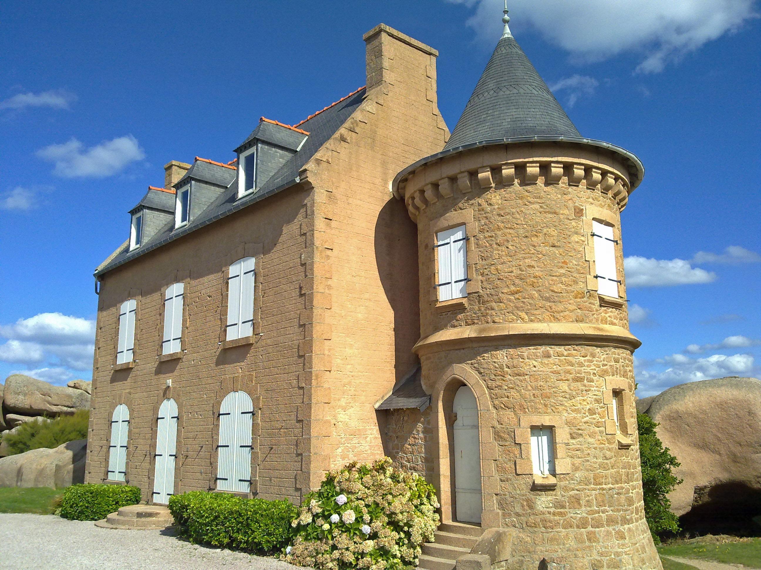 бэта, современные дома с башней крепость фото создании породы
