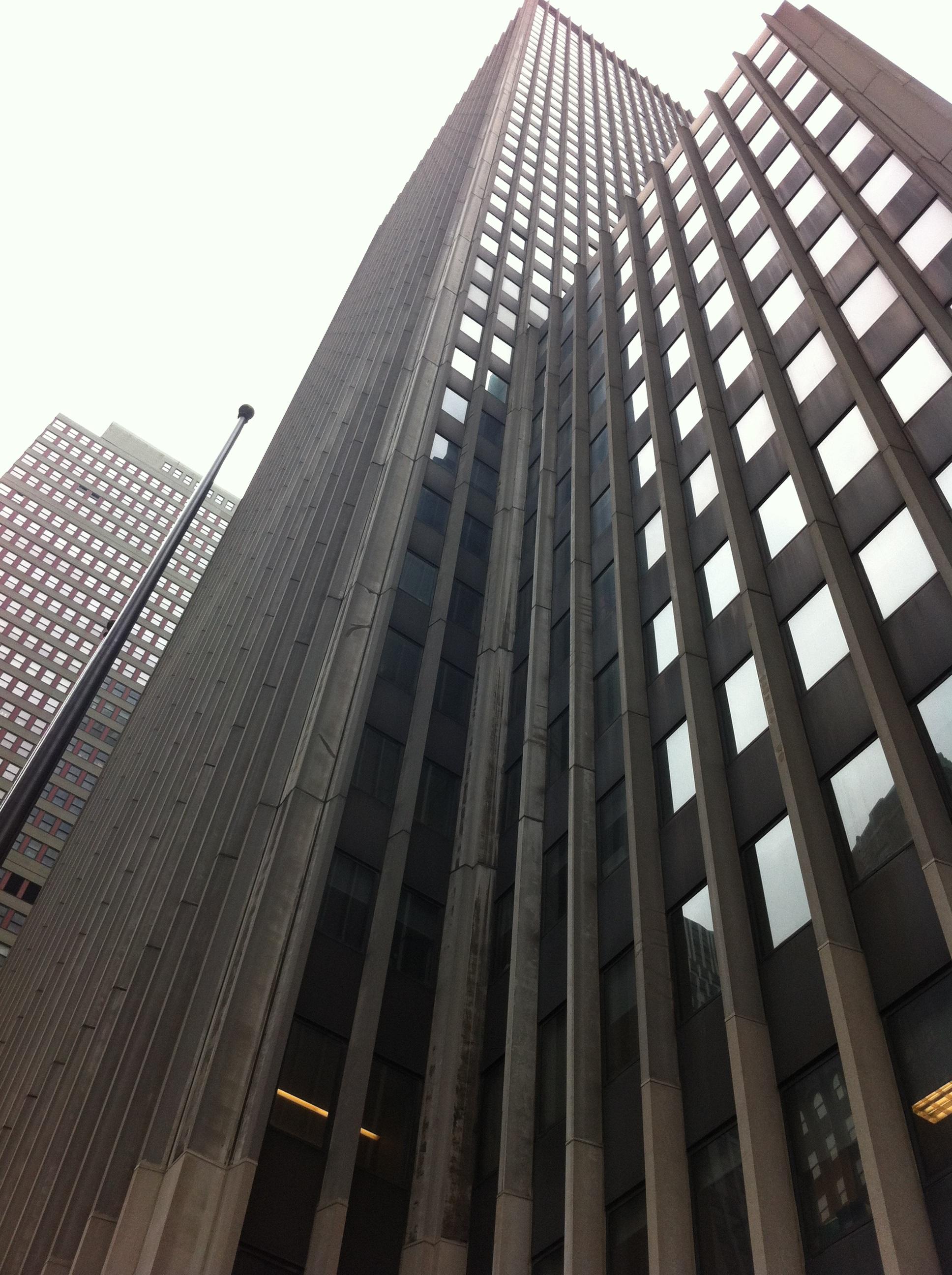 edificio ciudad rascacielos nueva york centro de la ciudad lnea punto de referencia fachada bloque