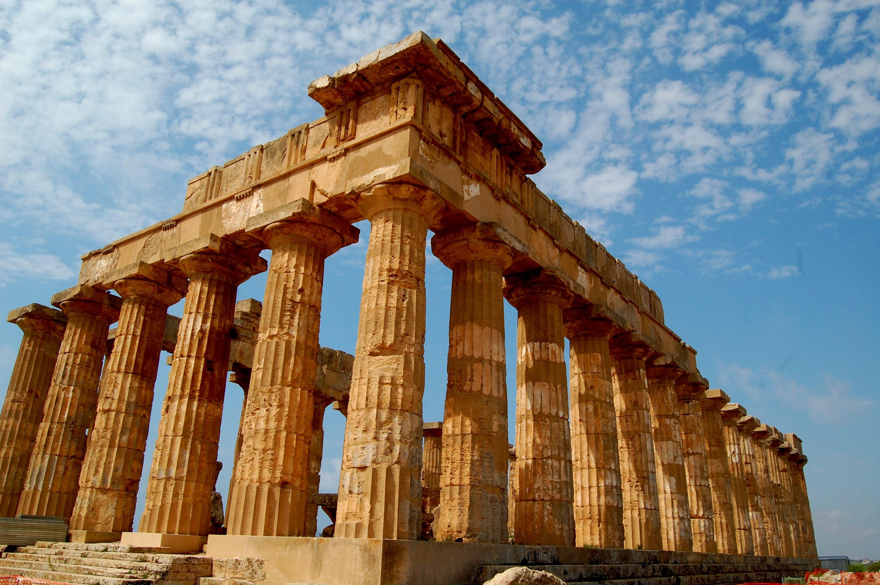 Храмы греции фото