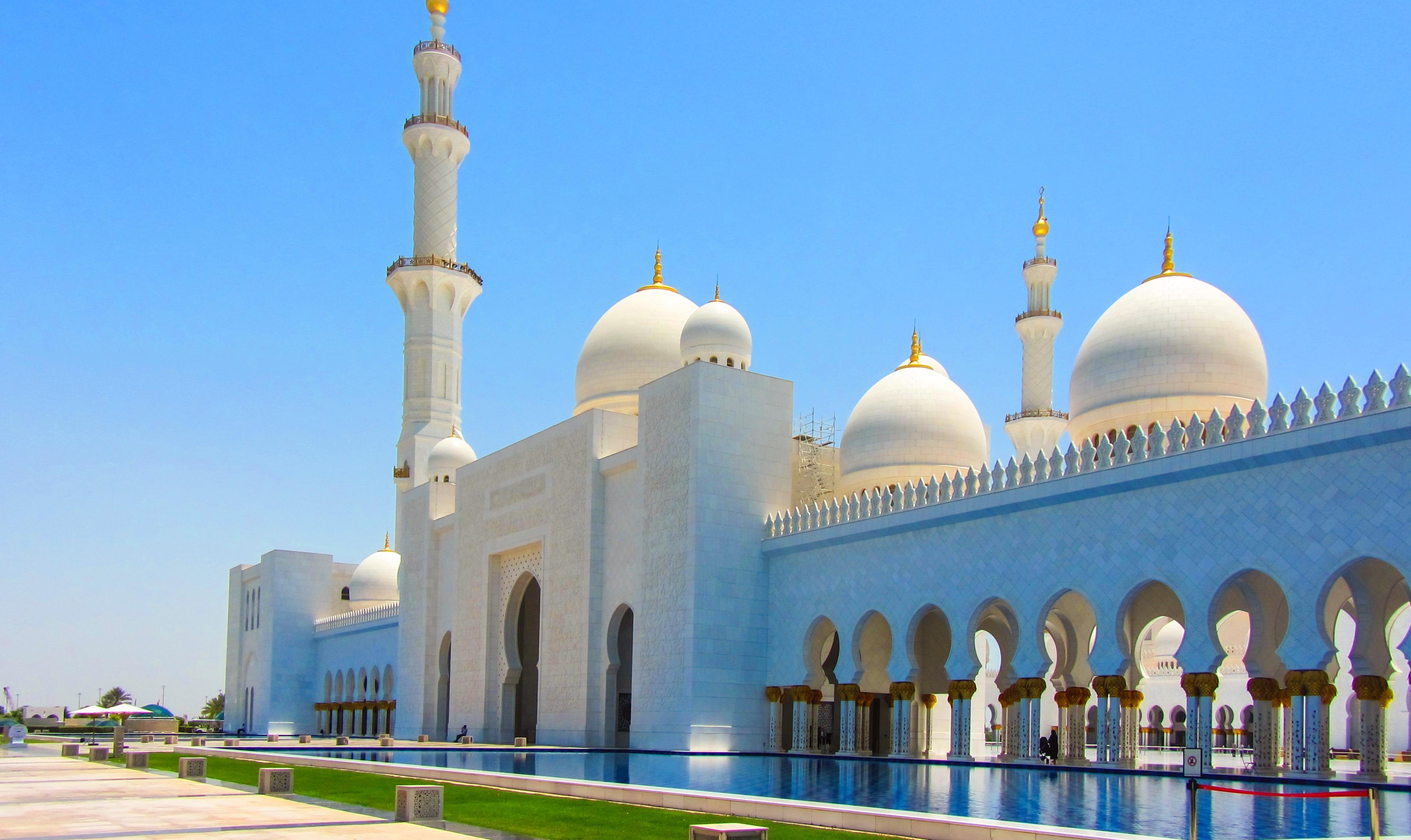 fotos gratis edificio punto de referencia lugar de adoracin lugares de inters fe uae islam arabia arbica abu dhabi t