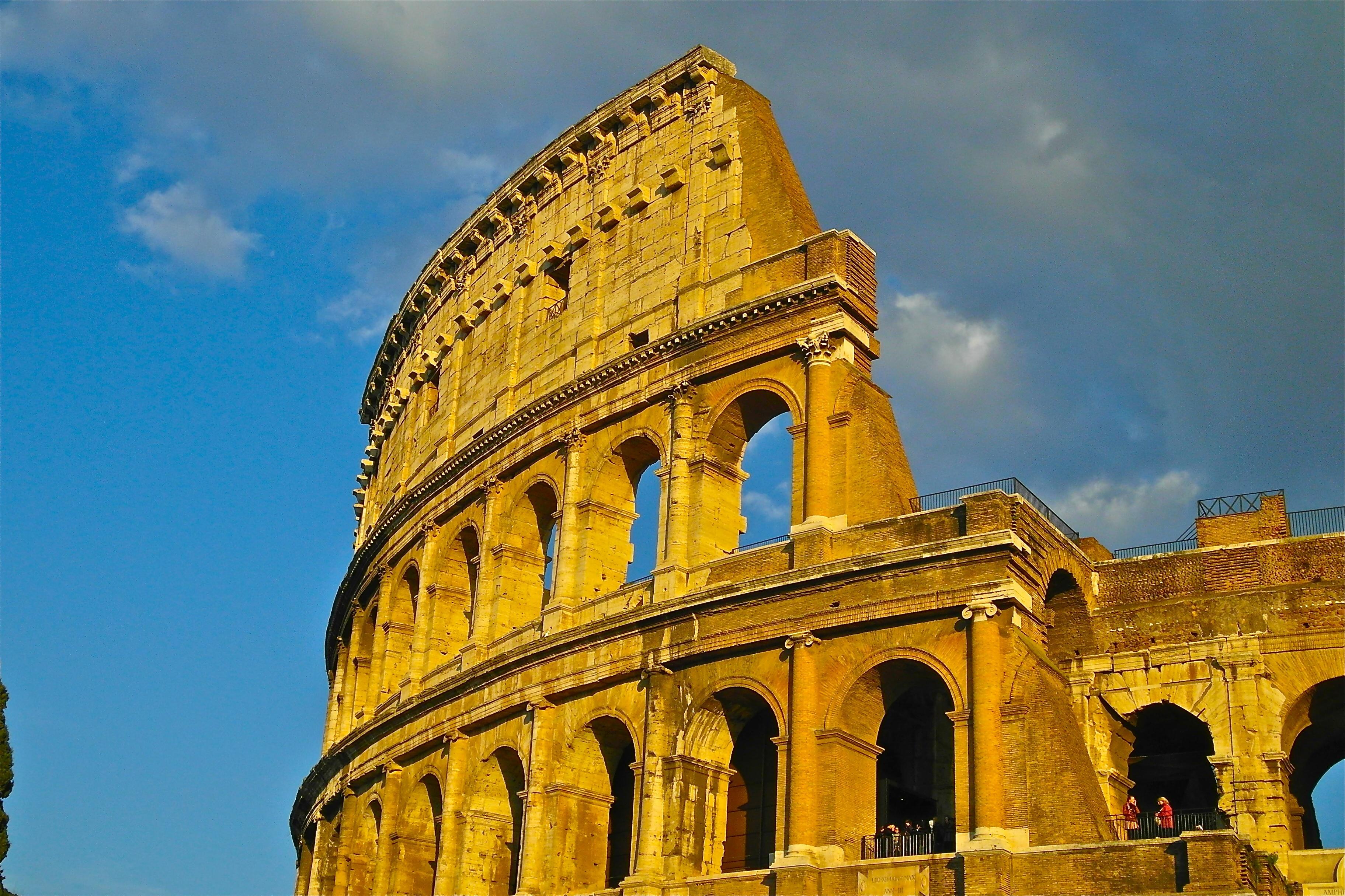 Древний рим архитектура с картинками