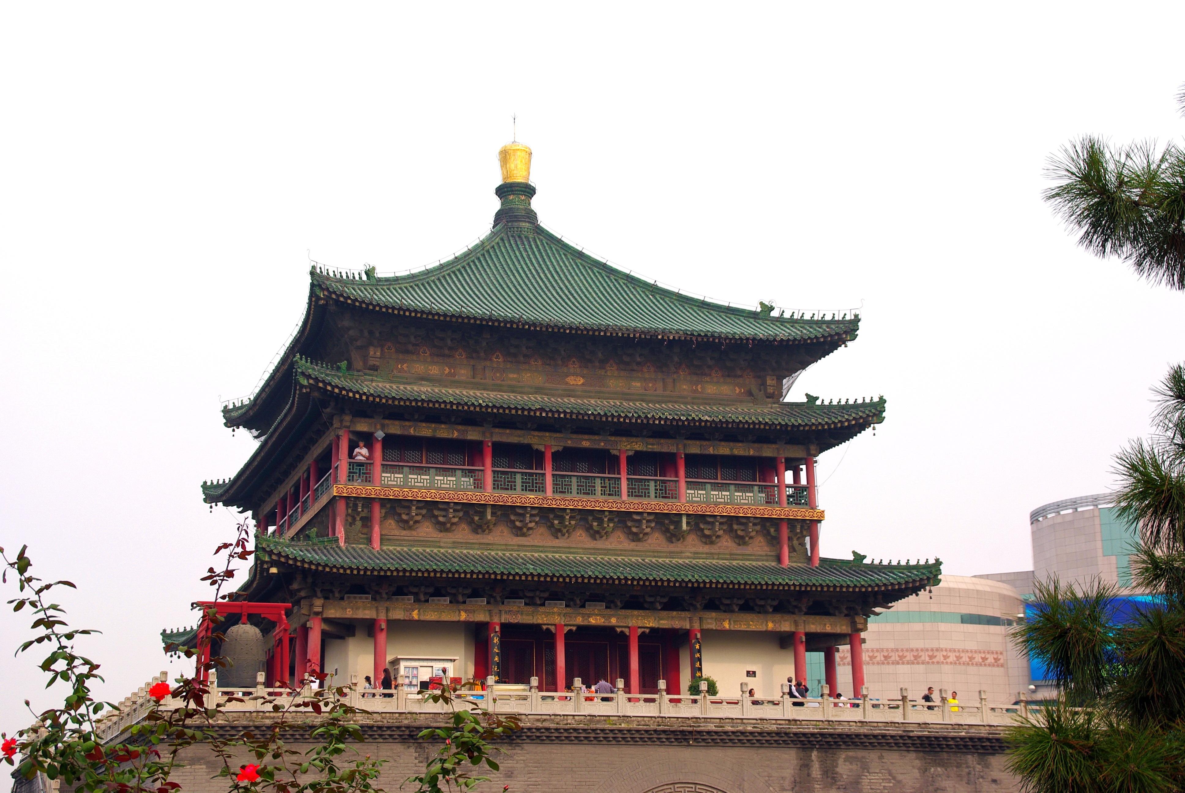 Картинка китайская башня