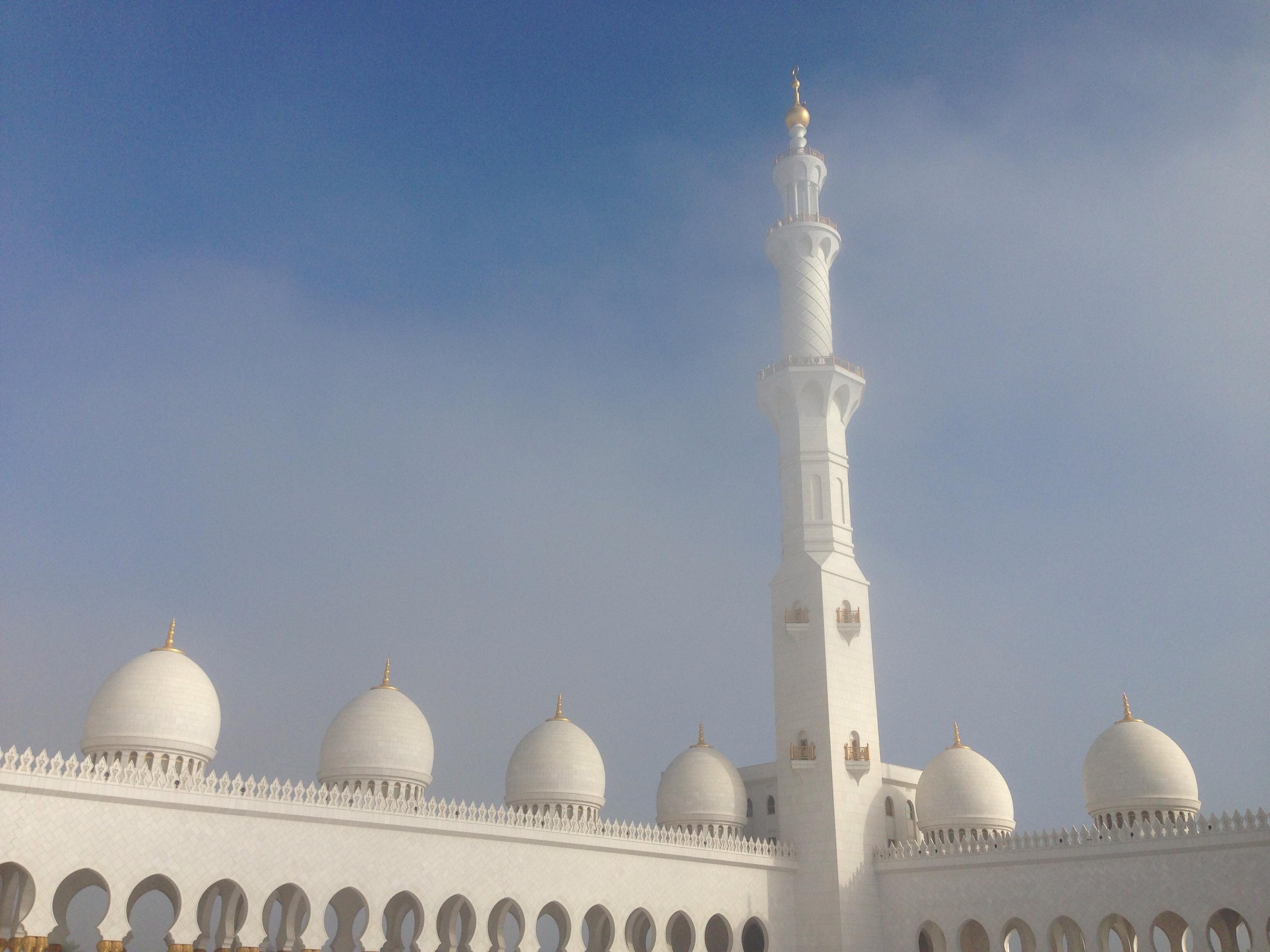 edificio viajar torre fiesta religin pareja lugar de adoracin mezquita islam arbica abu alminar minaretes