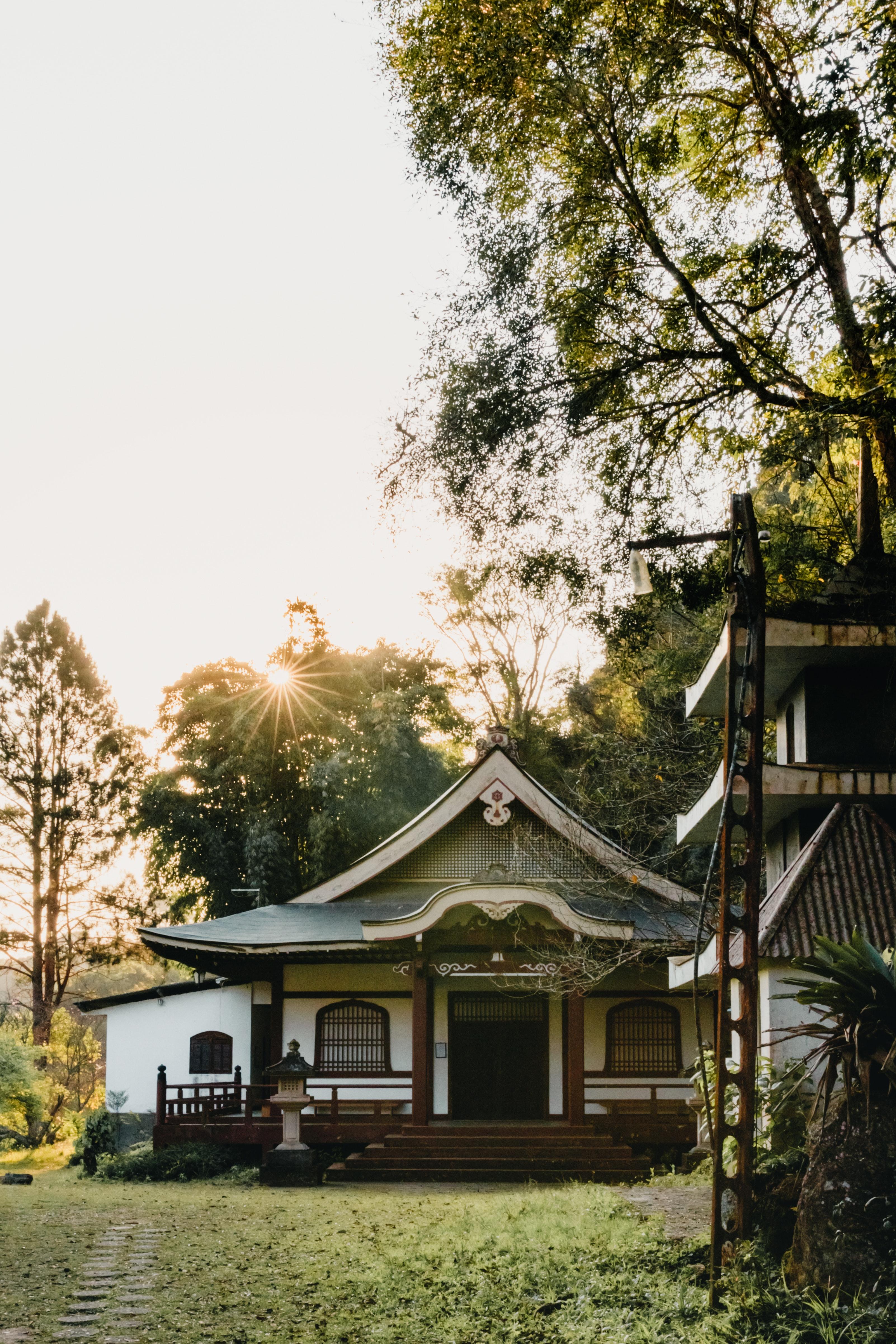 Kostenlose Foto Die Architektur Ruhig Landhaus