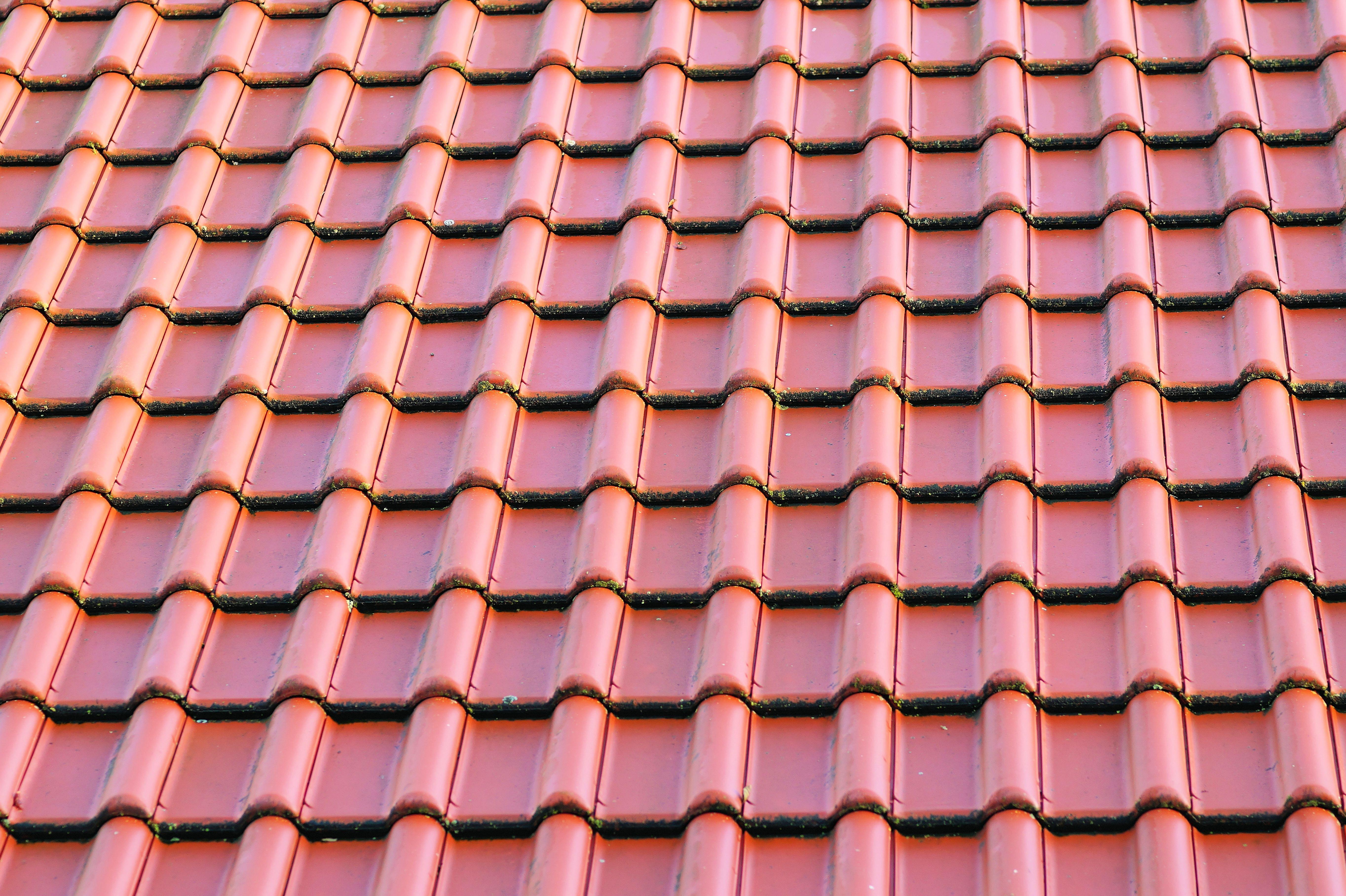 Gambar Arsitektur Lantai Rumah Pola Garis Merah